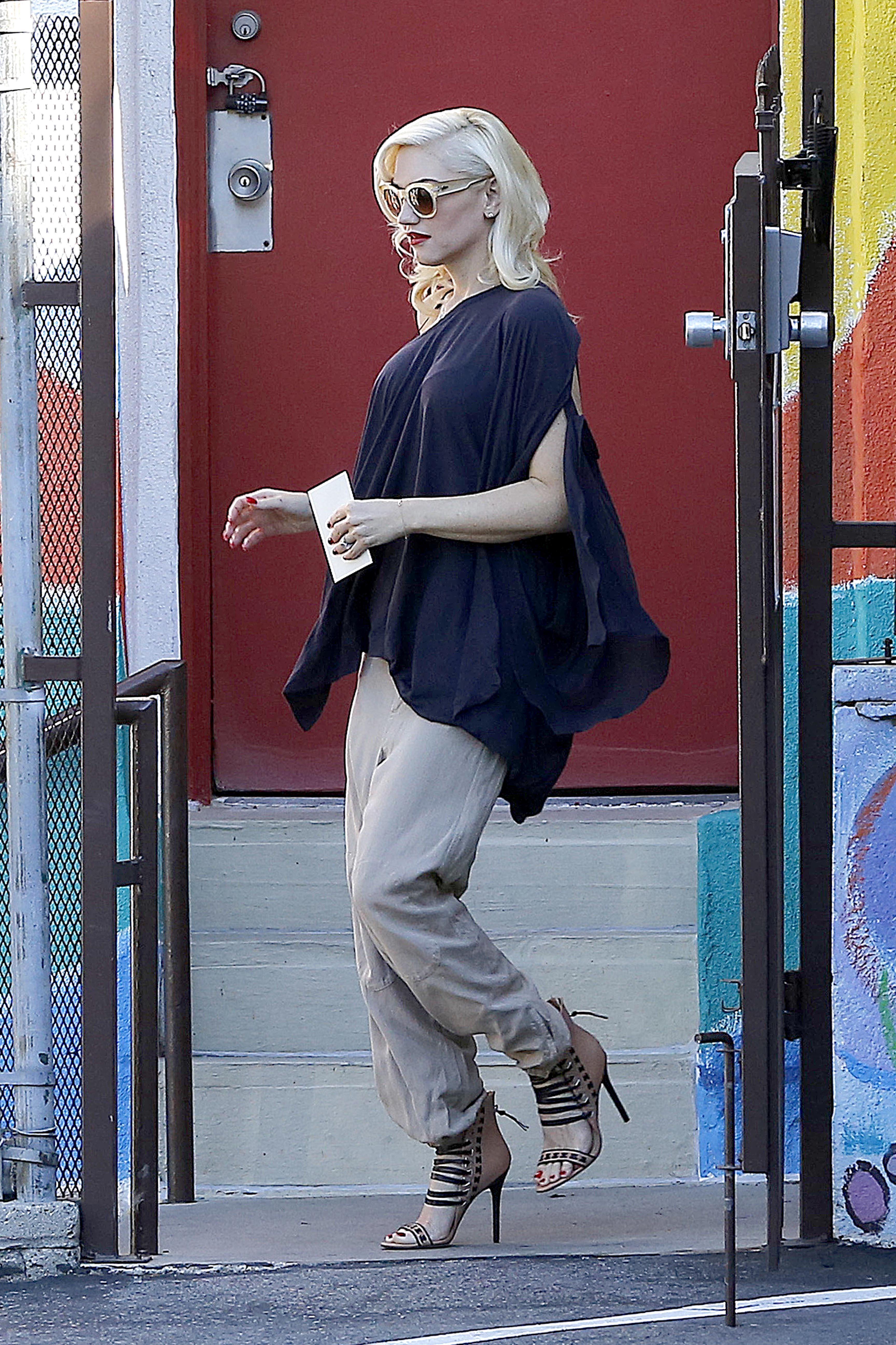 Gwen Stefani possibly pregnant
