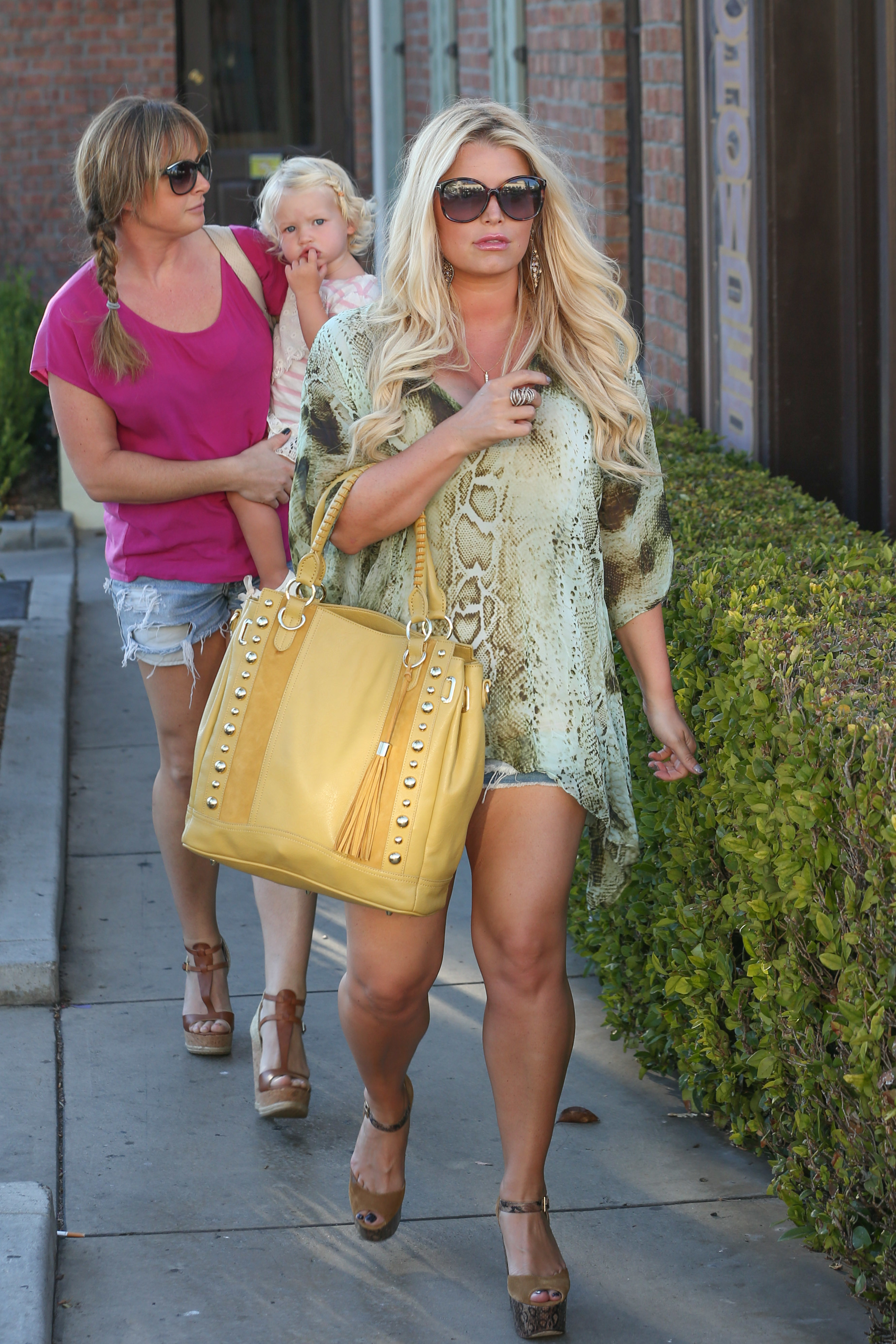jessica simpson body after baby