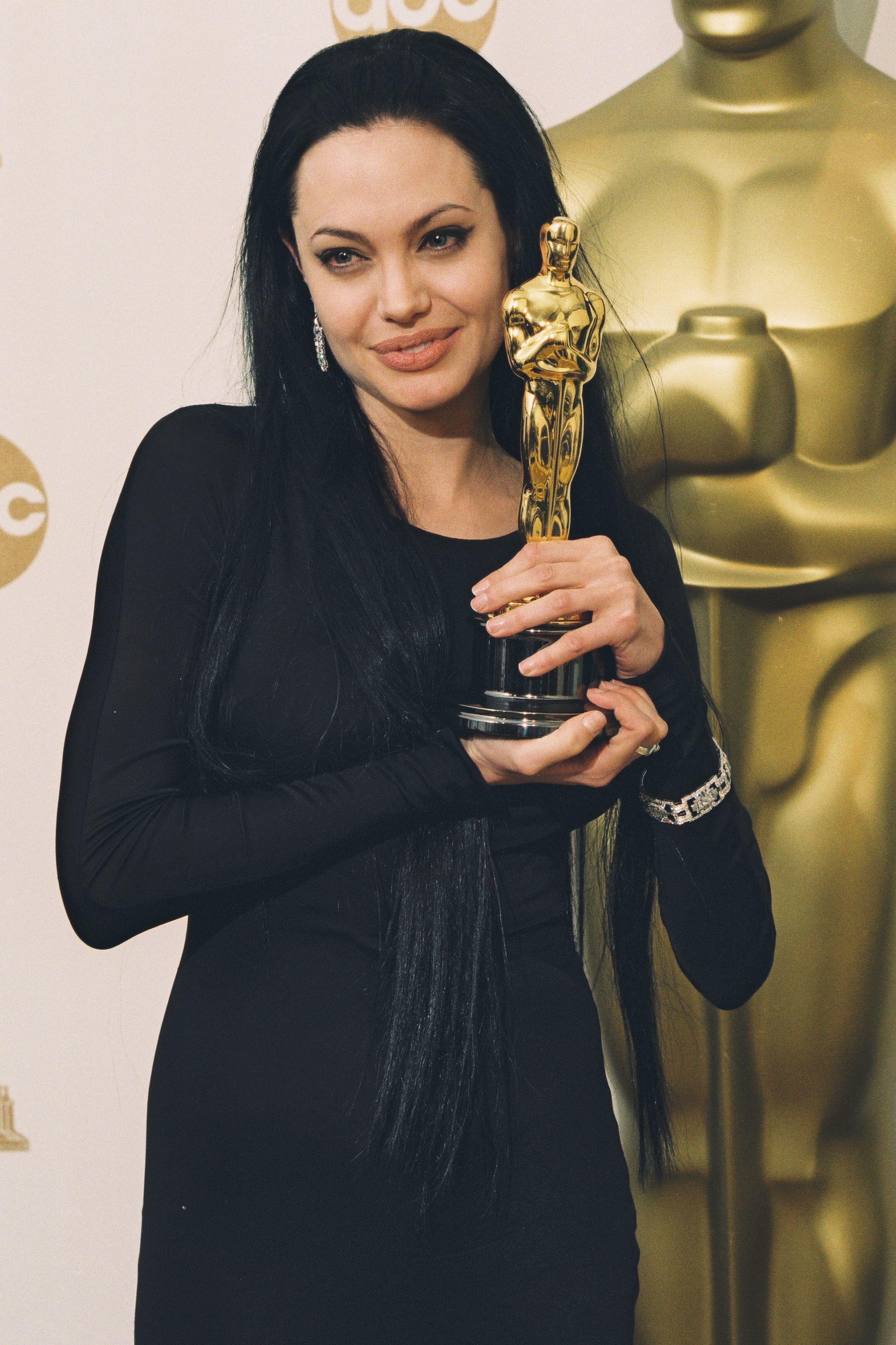 Angelina Jolie goth