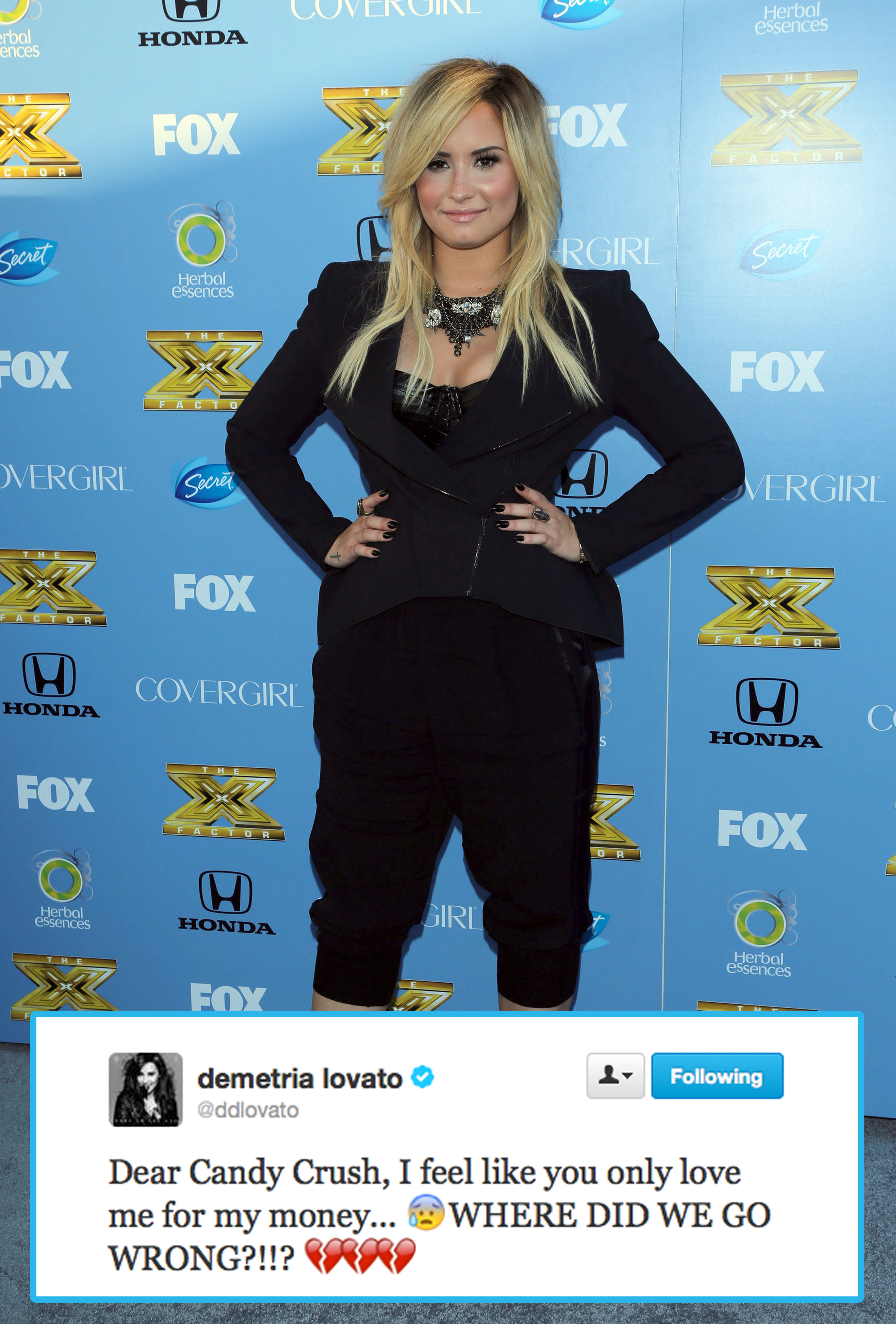 Demi Lovato funny tweet