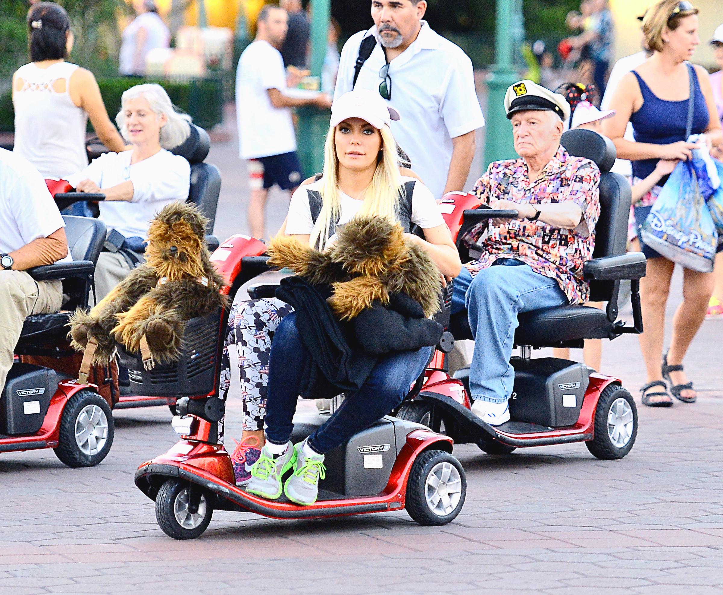 Hugh Hefner Disneyland