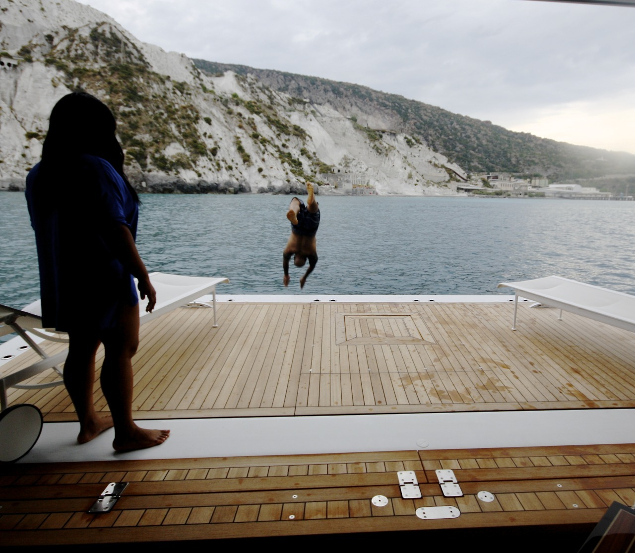beyonce blond blonde bob vacation tumblr italy blue ivy yacht
