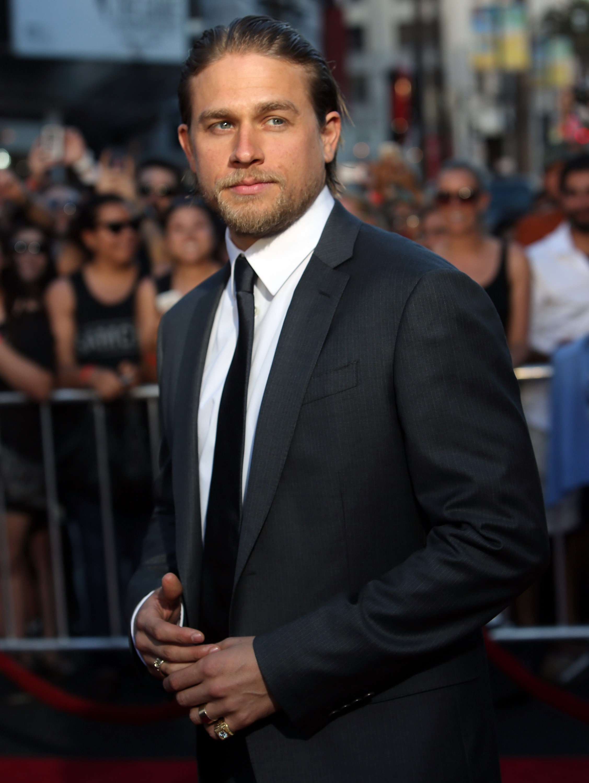 Charlie Hunnam Christian Grey Fifty Shades of Grey