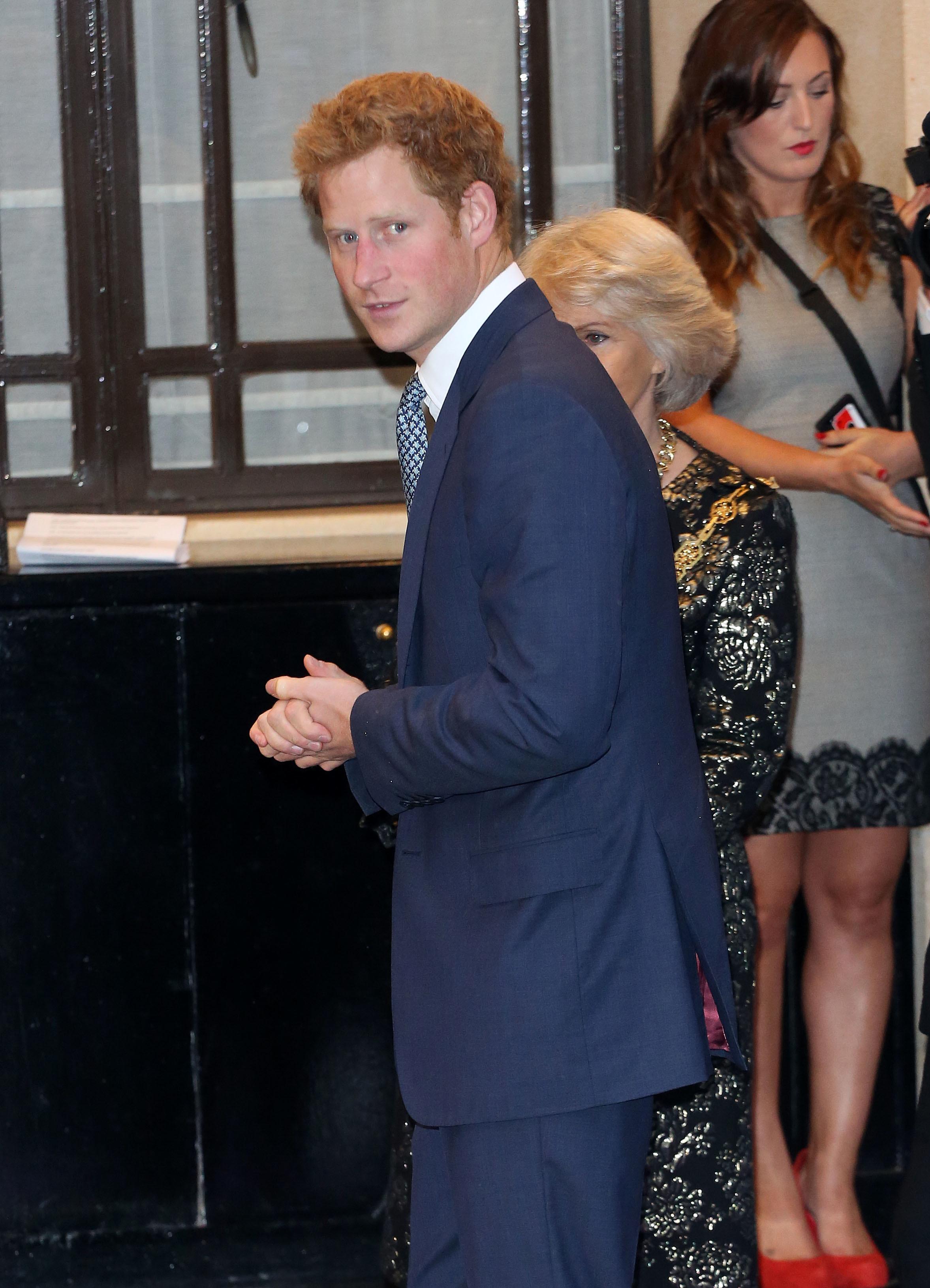 prince harry awards london