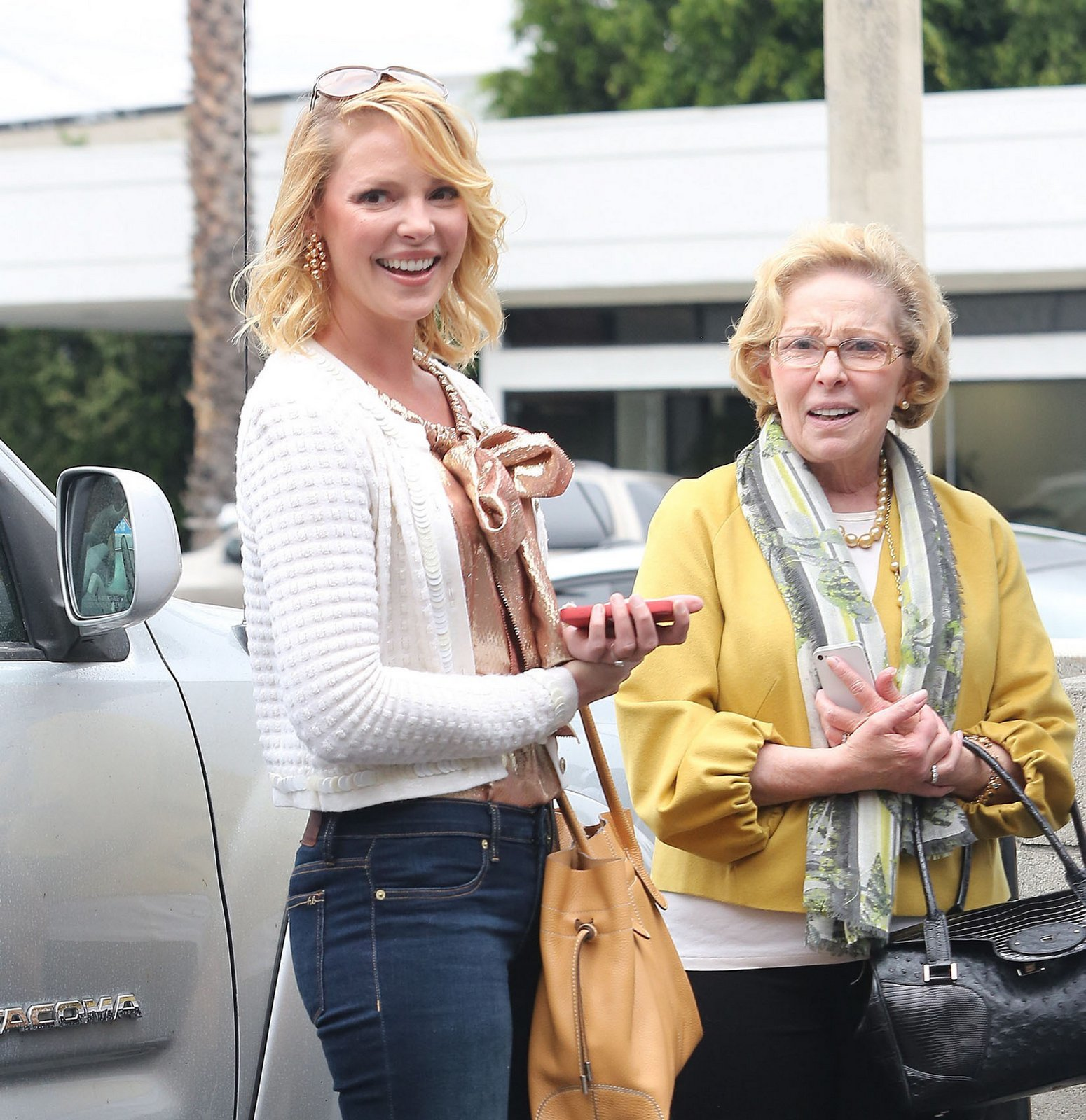 Katherine Heigl mom