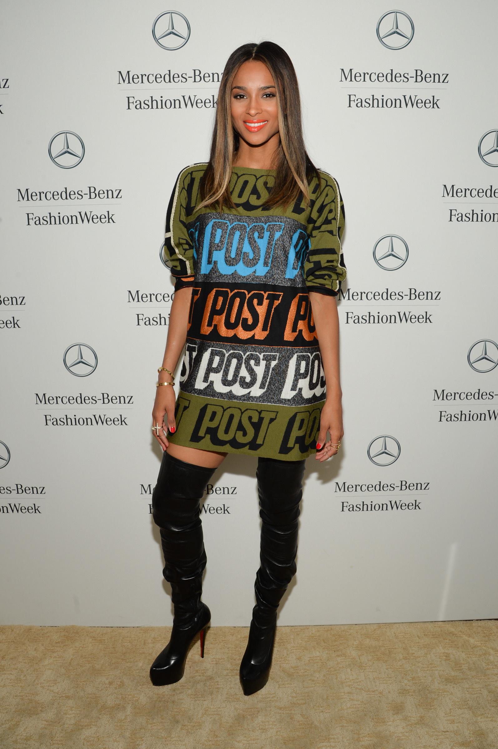 Ciara fashion week