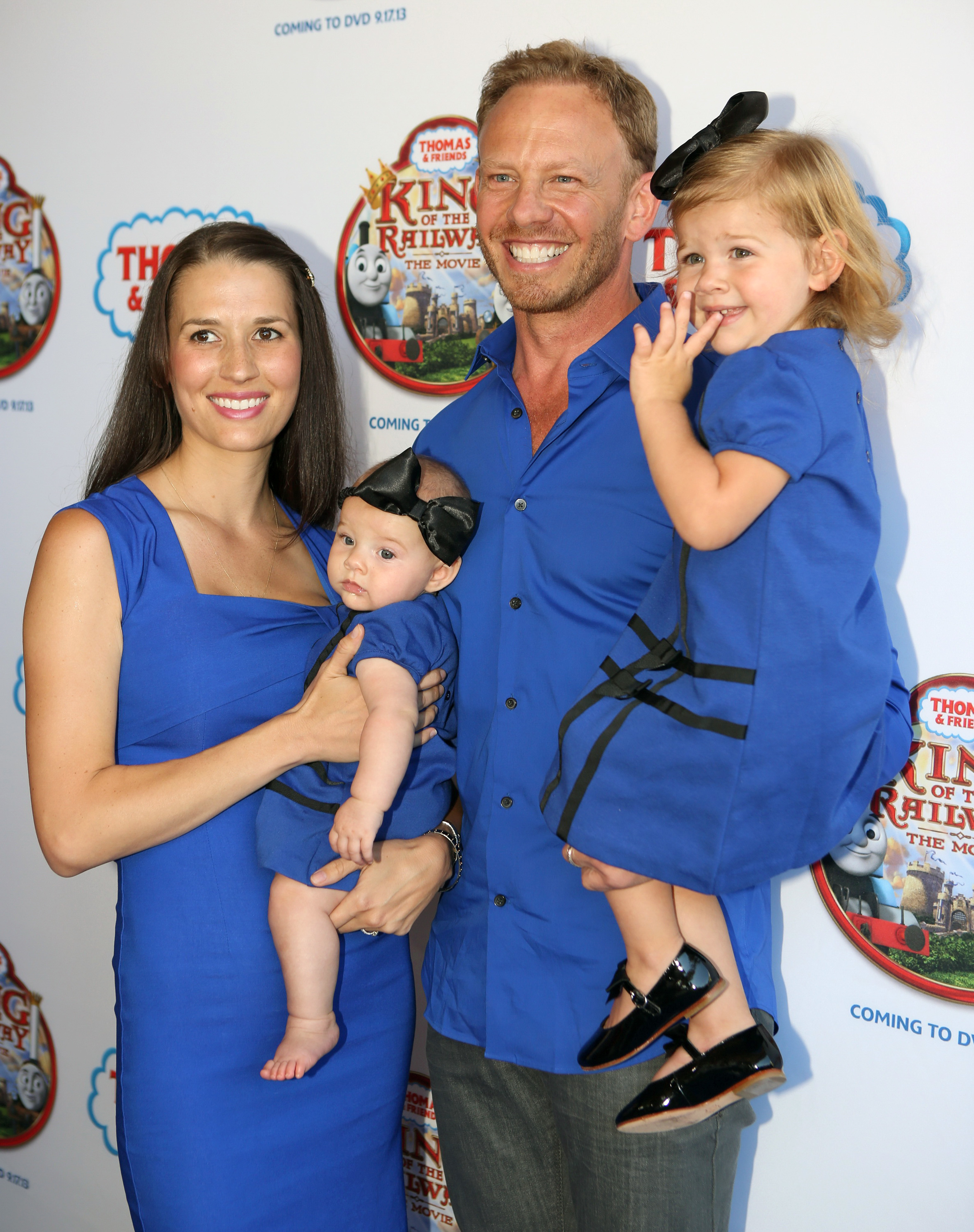 Ian Ziering on how his daughters, Mia and Penna, are getting feisty: