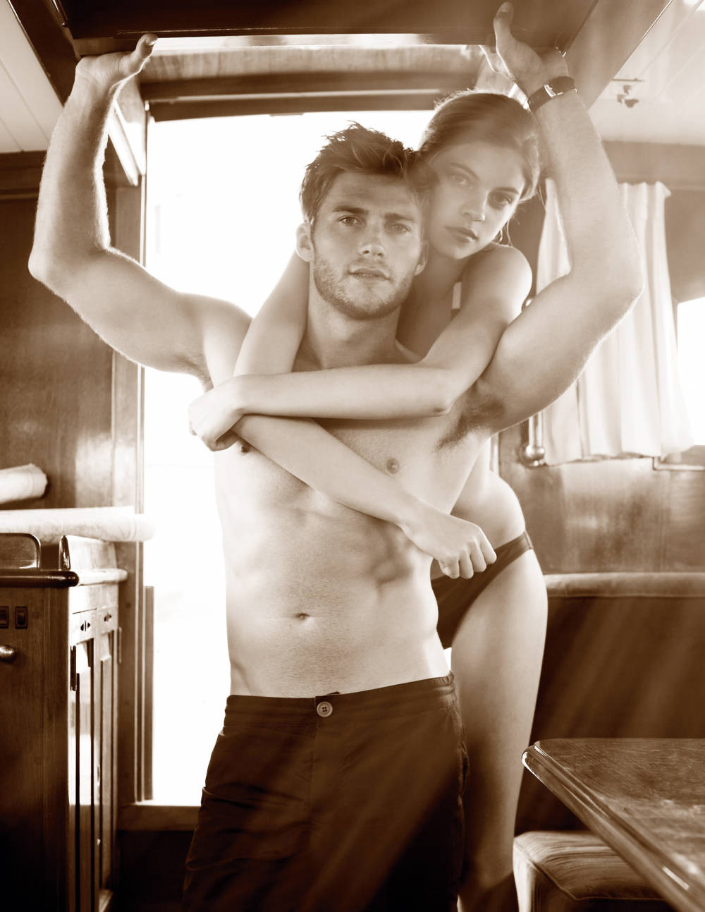 clint eastwood's hot son town & country scott eastwood shirtless