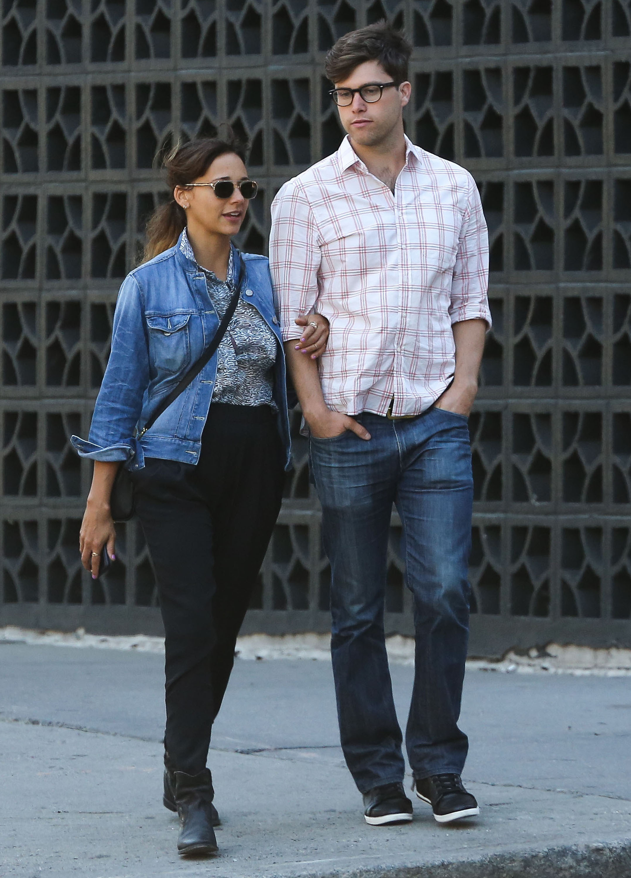 Rashida Jones Colin Jost