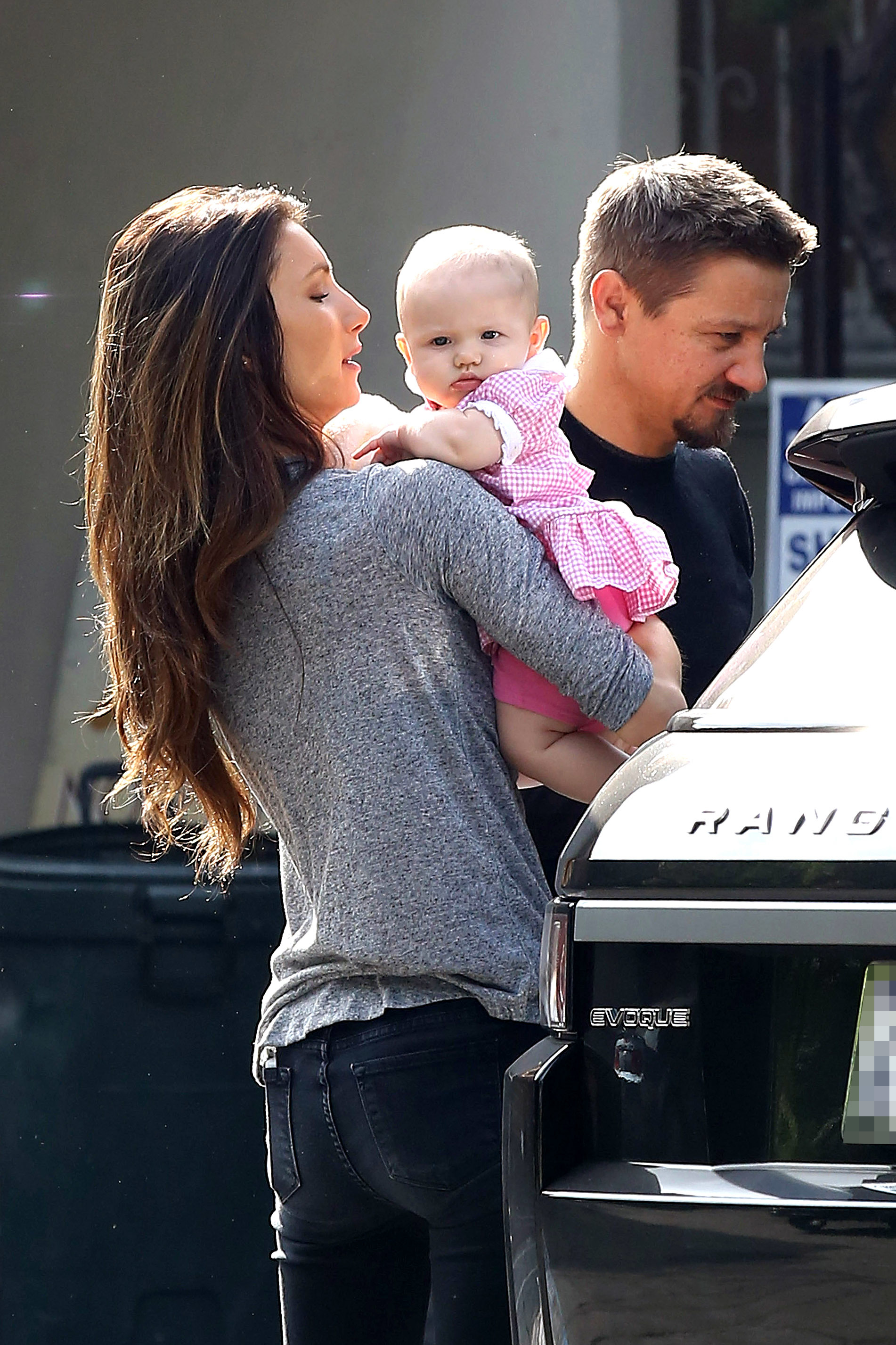 Jeremy Renner daughter