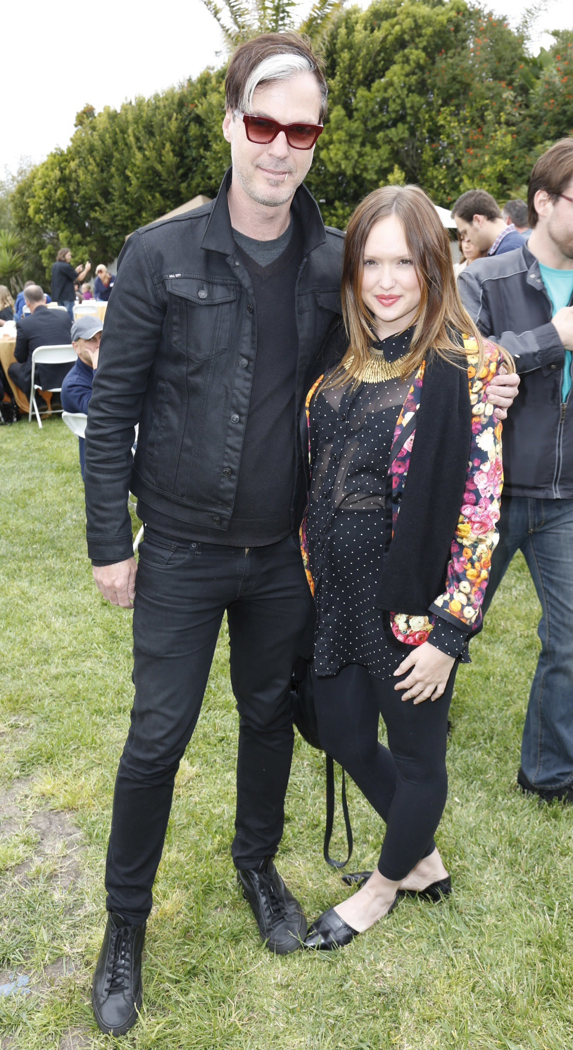 Michael Fitzpatrick and Kaylee DeFer