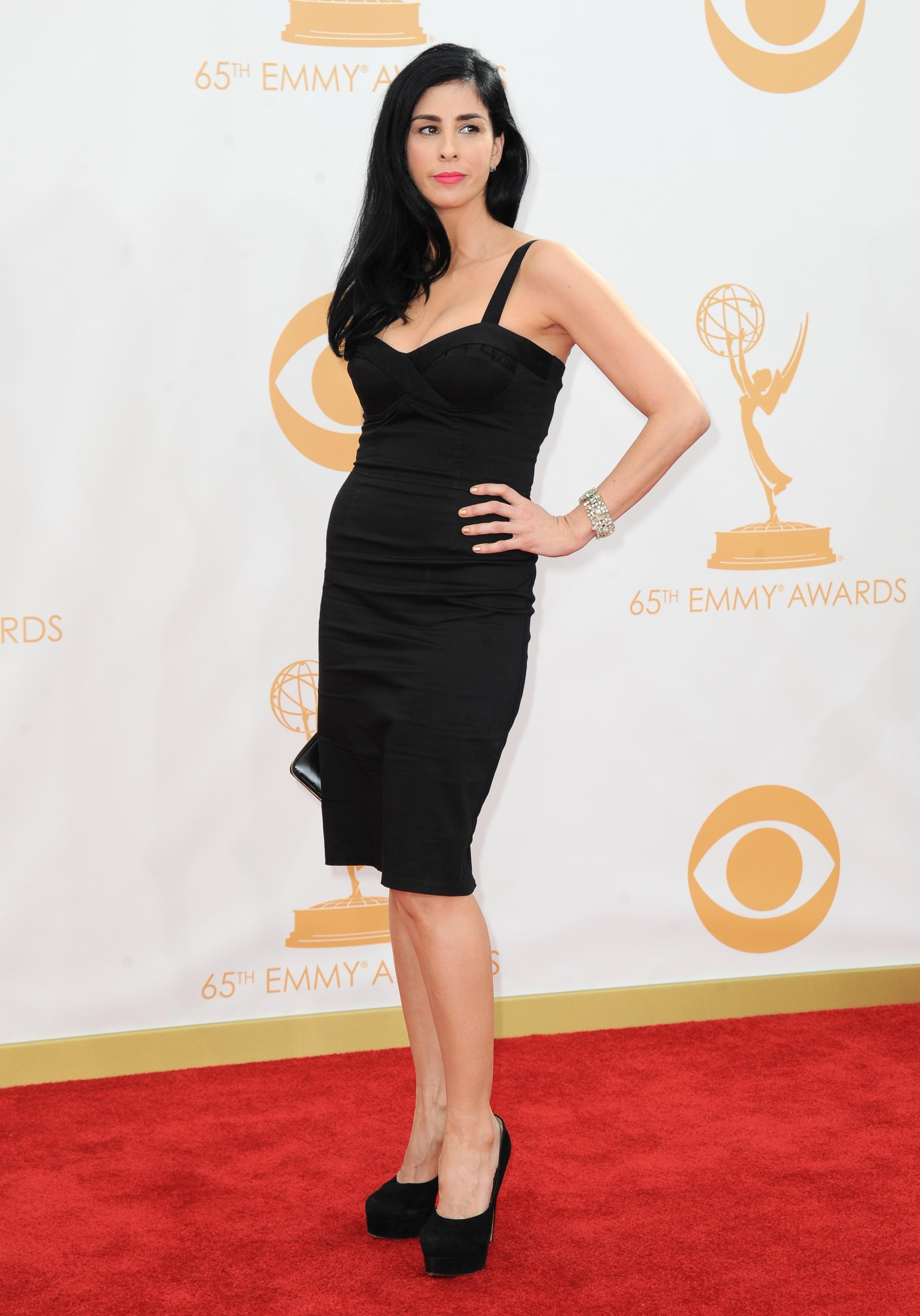 sarah silverman emmy dress