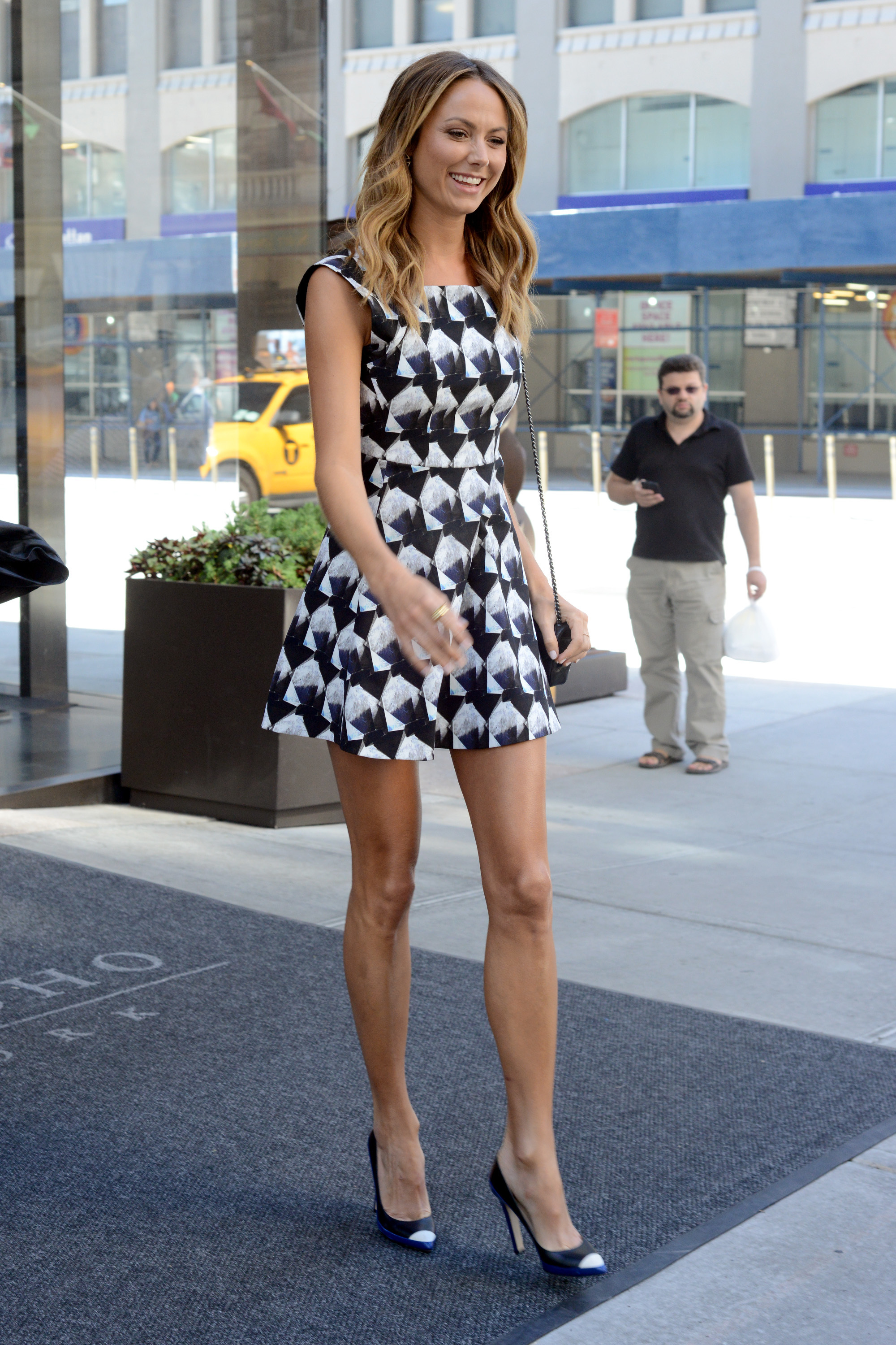 stacy keibler style
