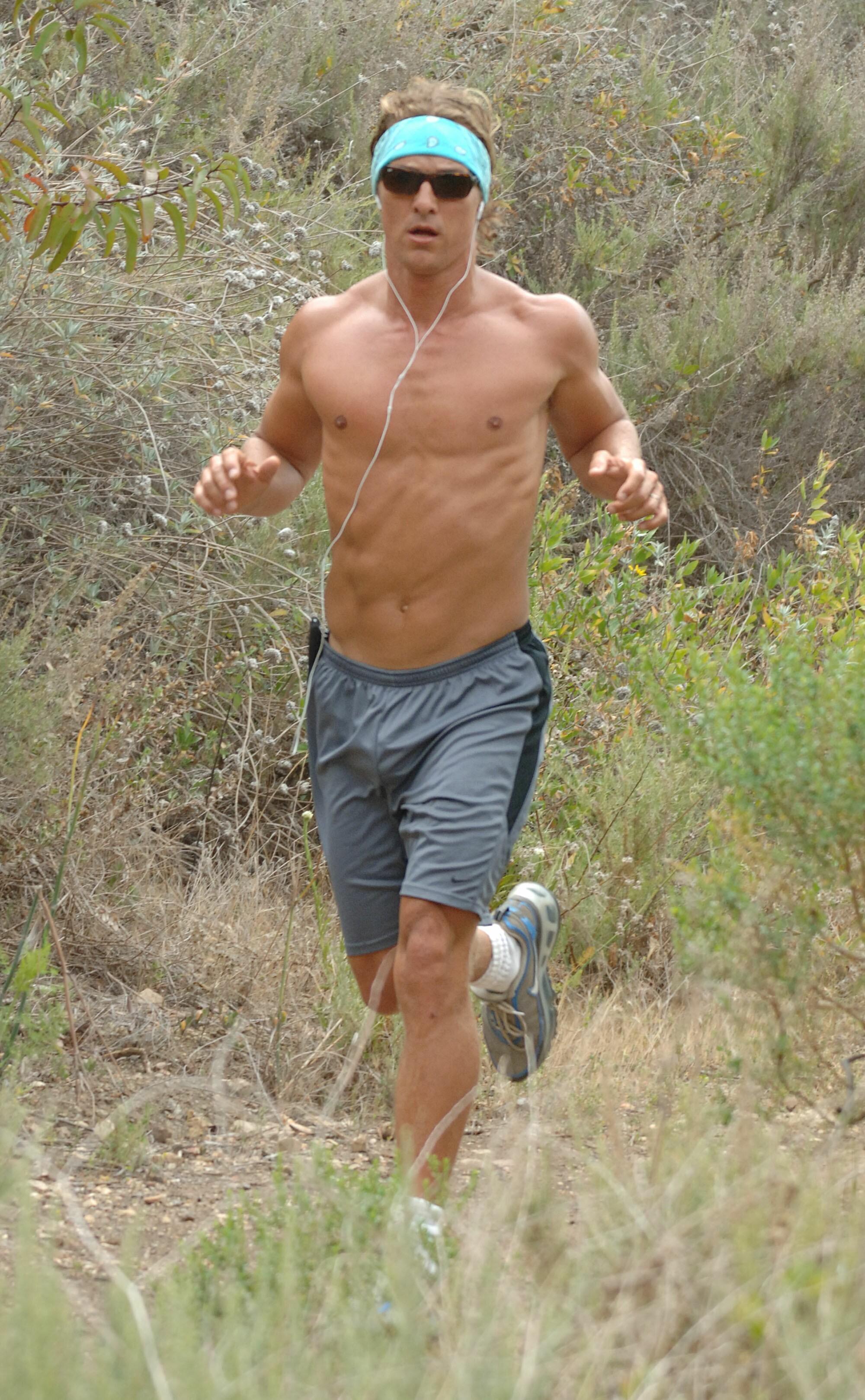 matthew mccaonughey running