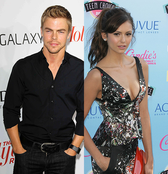 derek hough and nina dobrev