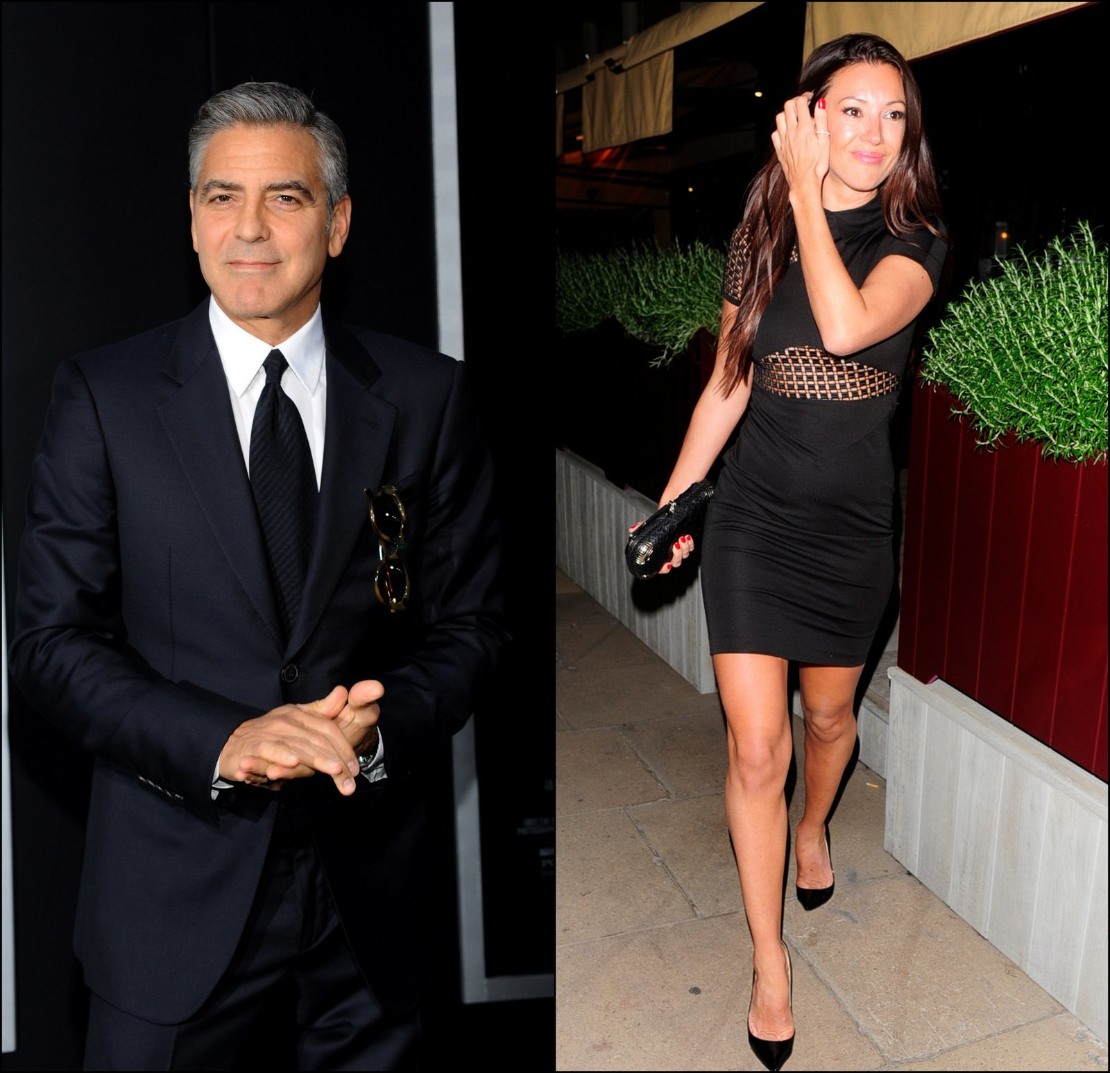 George Clooney Monika Jakisic