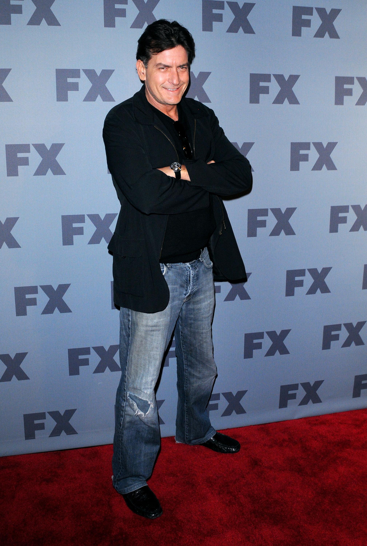 Charlie Sheen Red Carpet