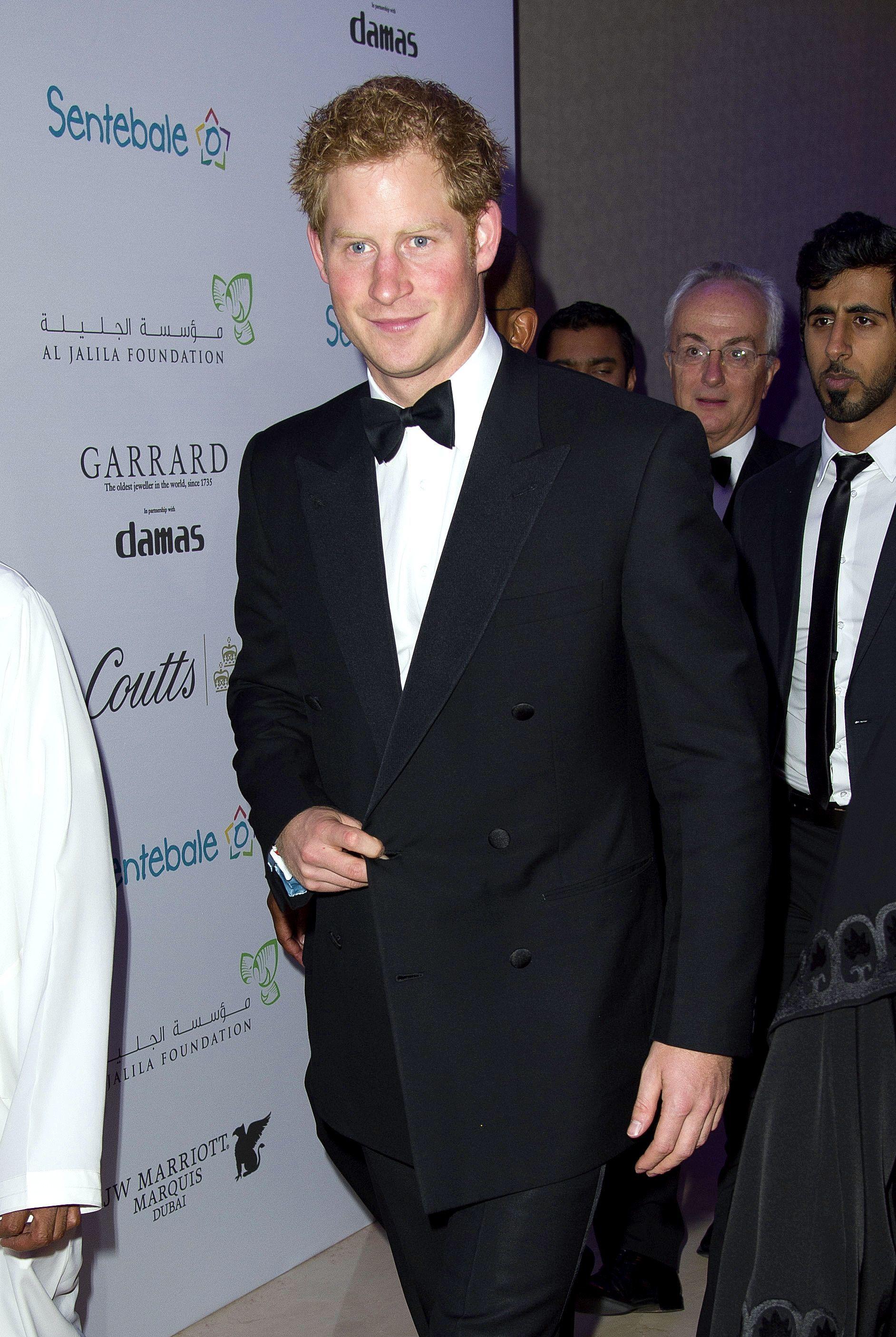 Prince Harry in Dubai