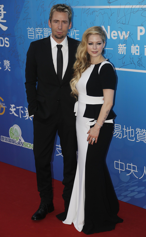 Chad Kroger Avril Lavigne Huading Awards