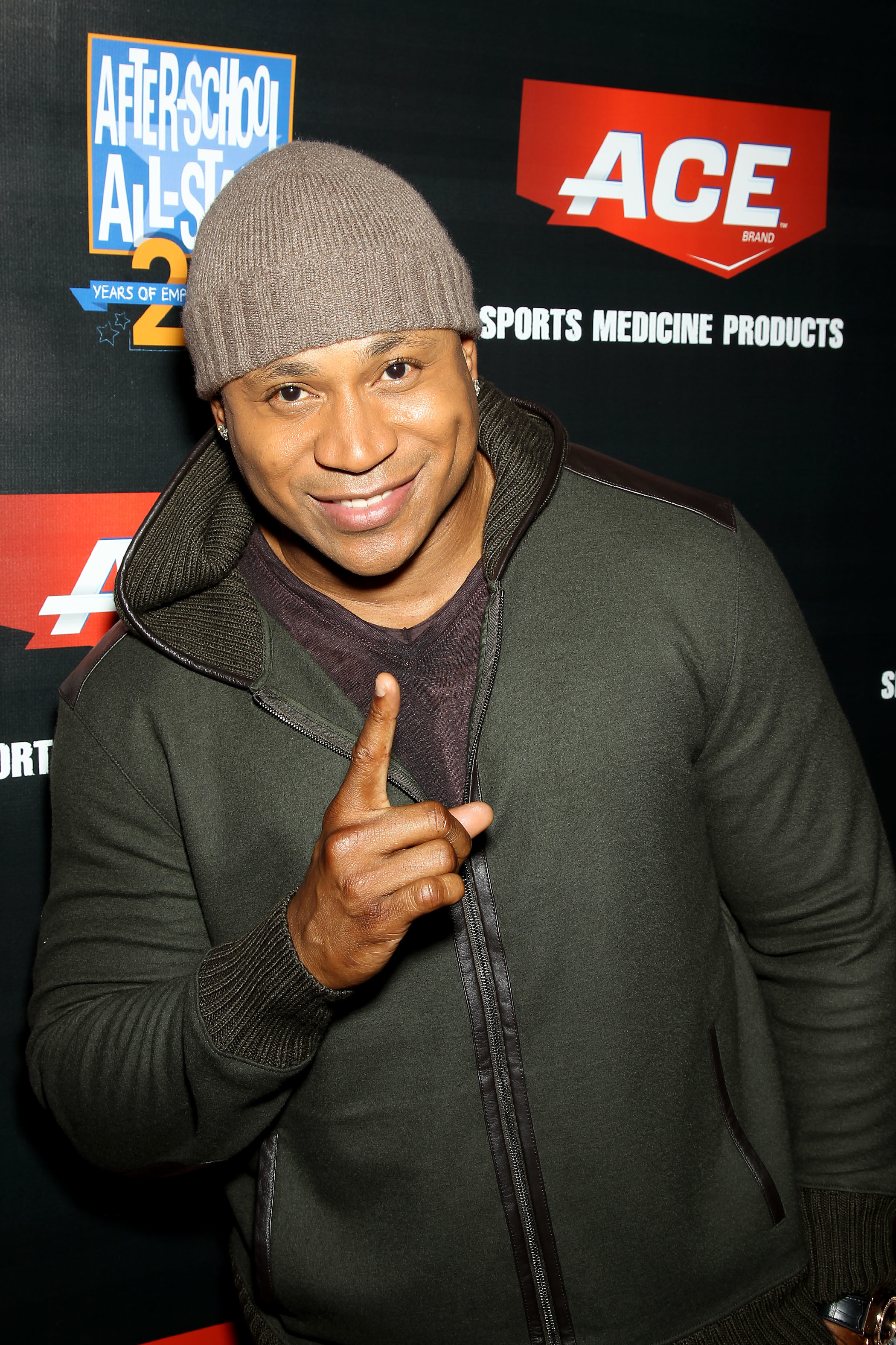 LL Cool J Ace brand A Game Challenge