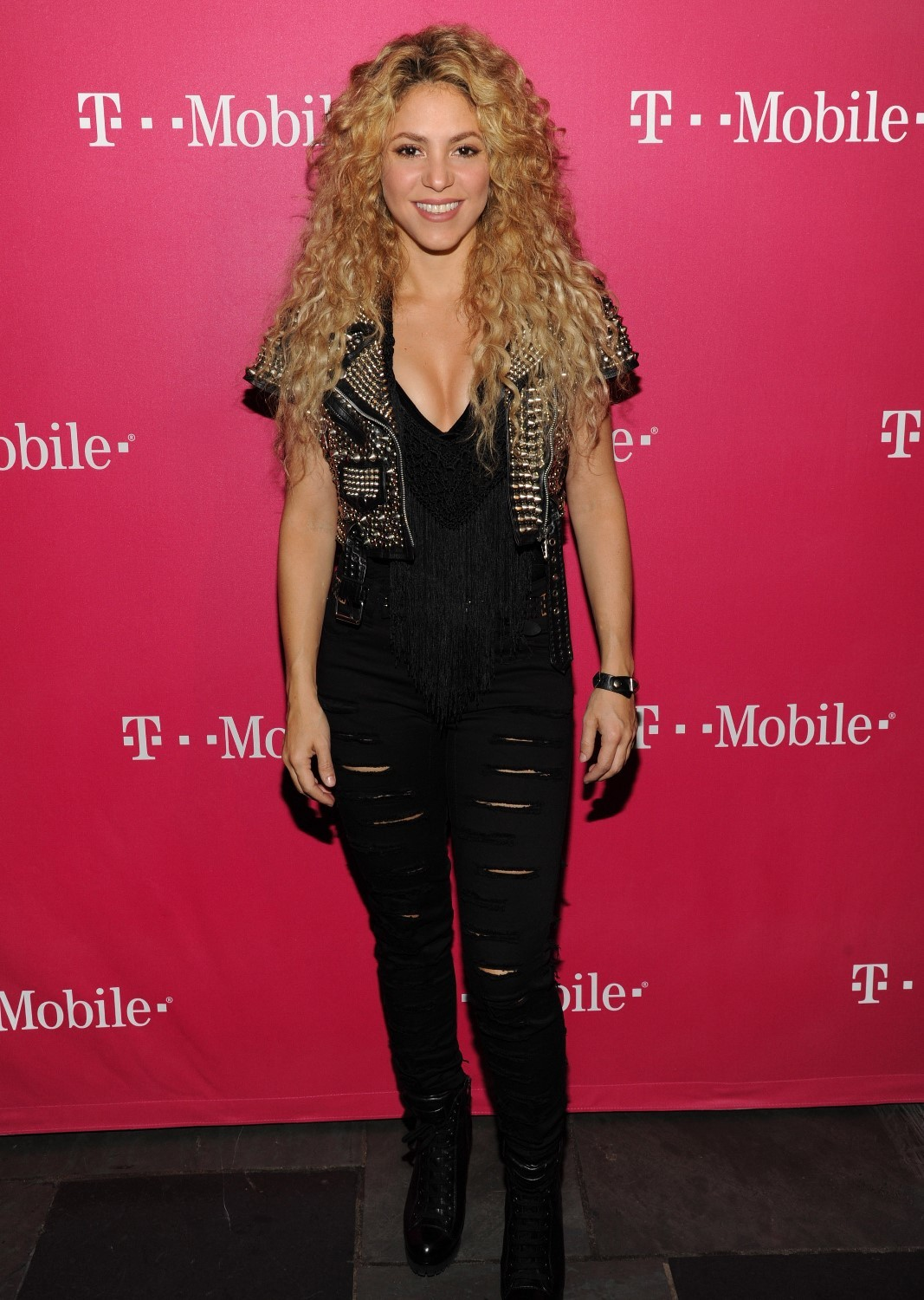 Shakira at T Mobile Event