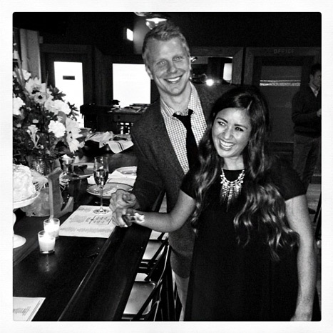 Sean Lowe Catherine Giudici engagement party
