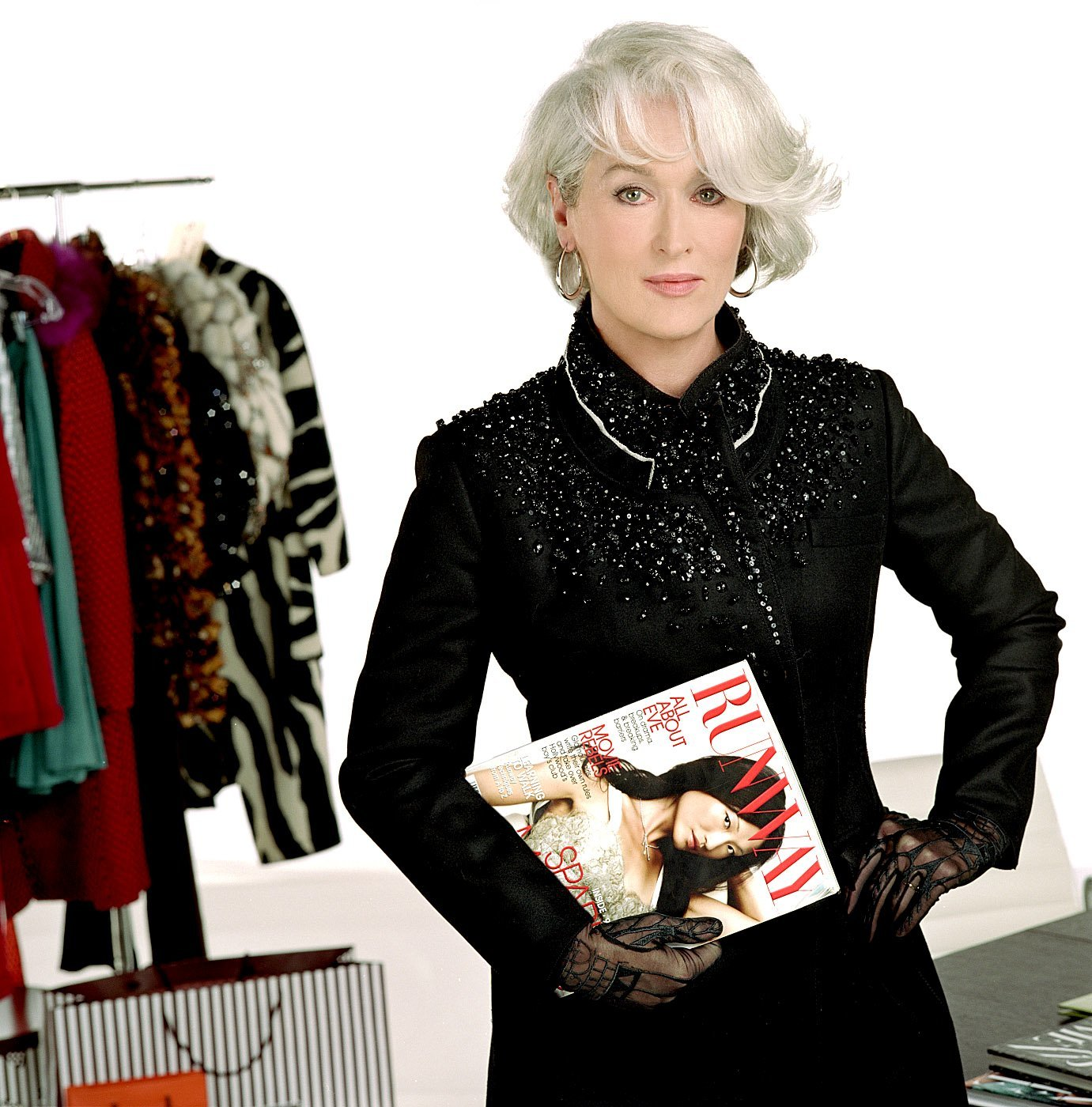 No. 1: She's Miranda freaking Priestly