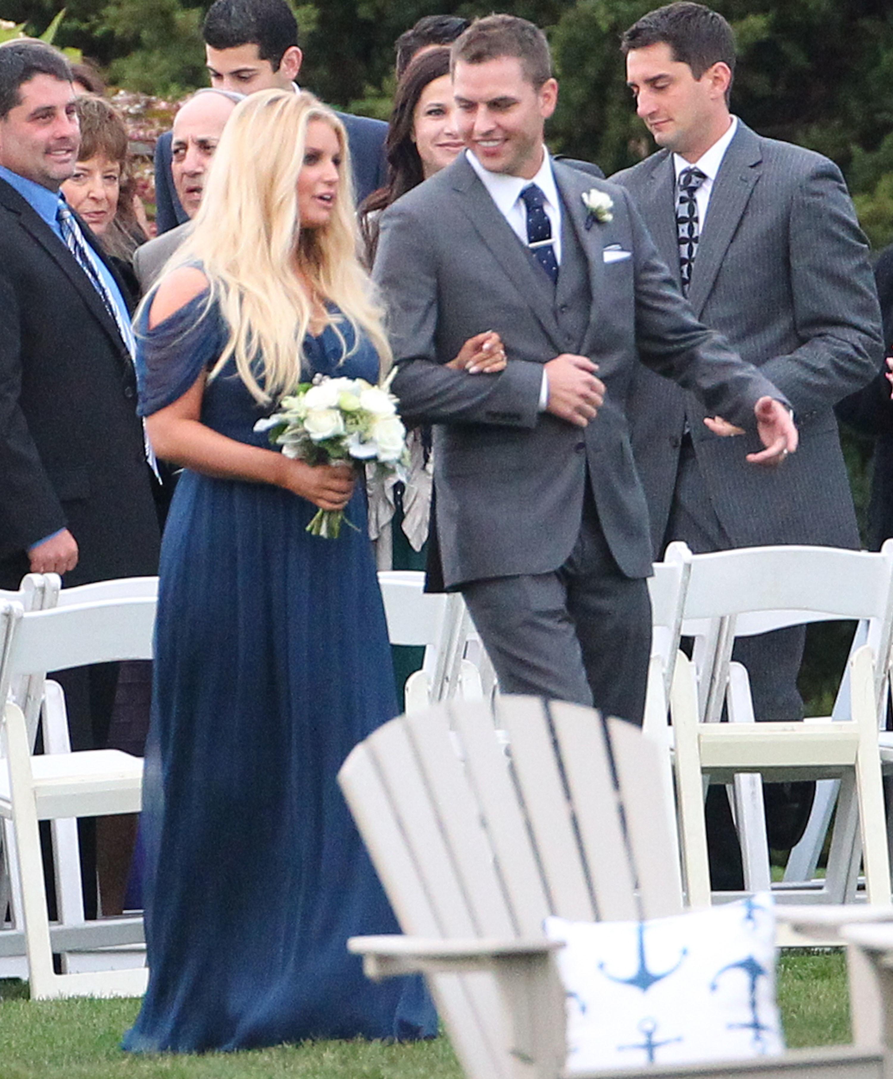 Jessica Simpson bridesmaid