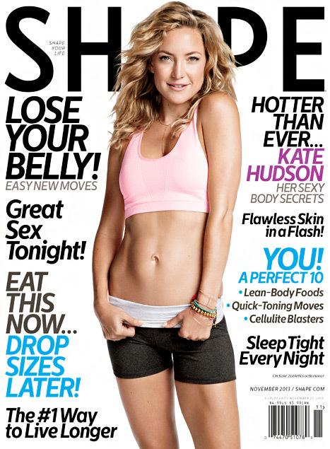 Kate Hudson Shape