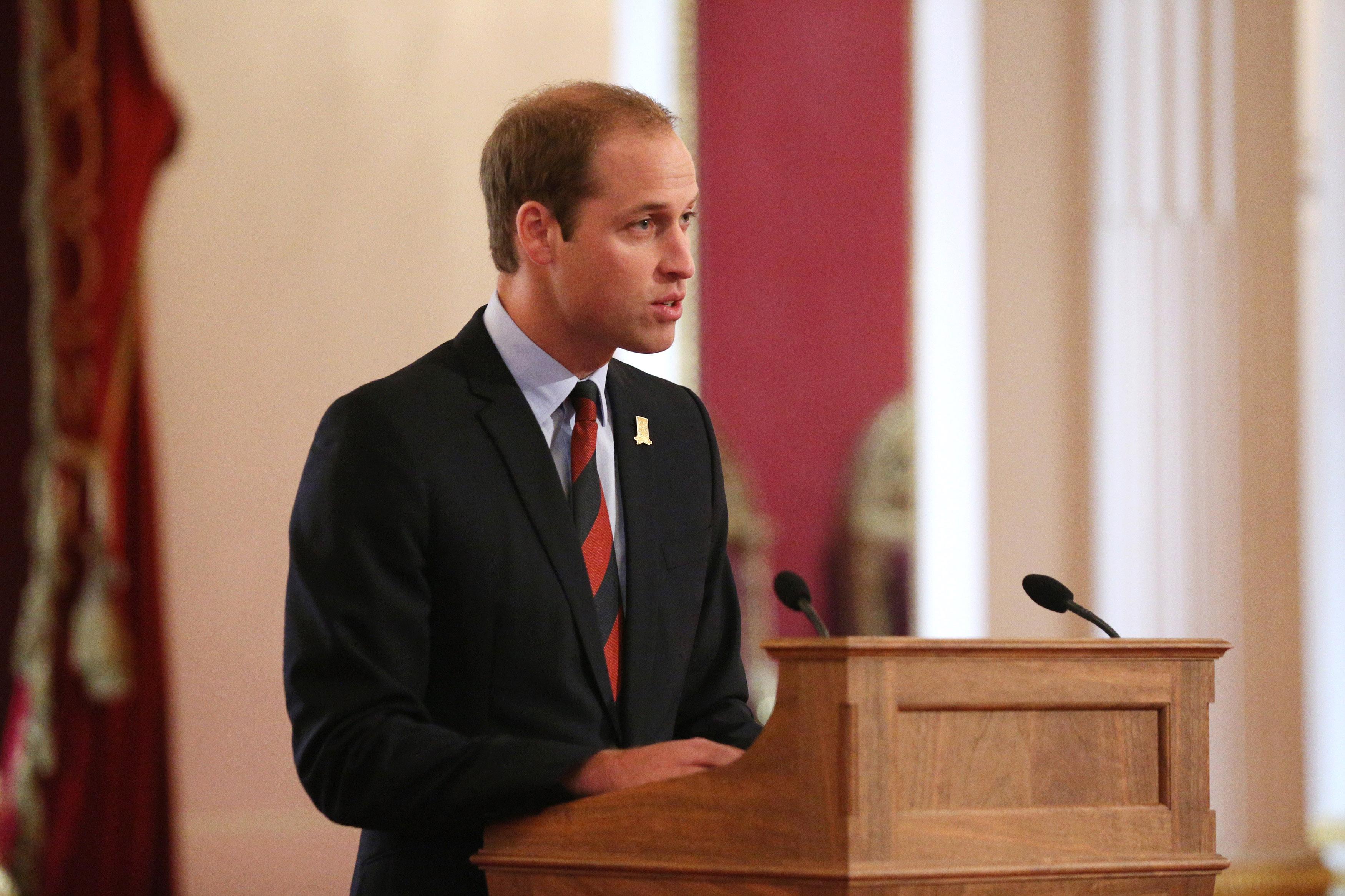 prince william medal ceremony