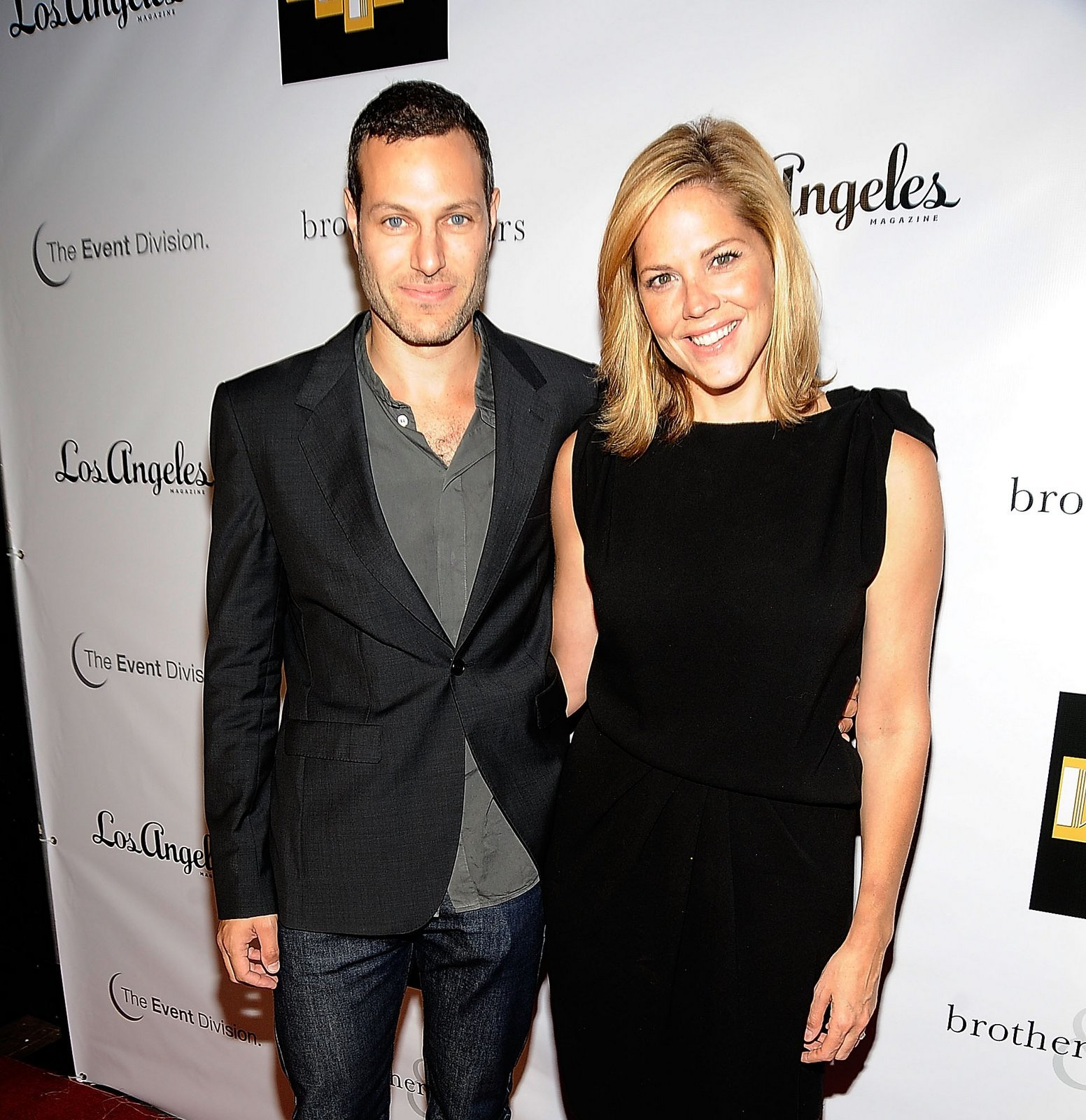 Mary McCormack and Michael Morris