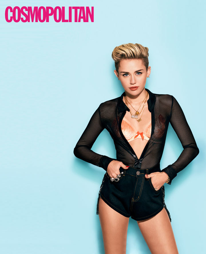 miley cyrus cosmo cover