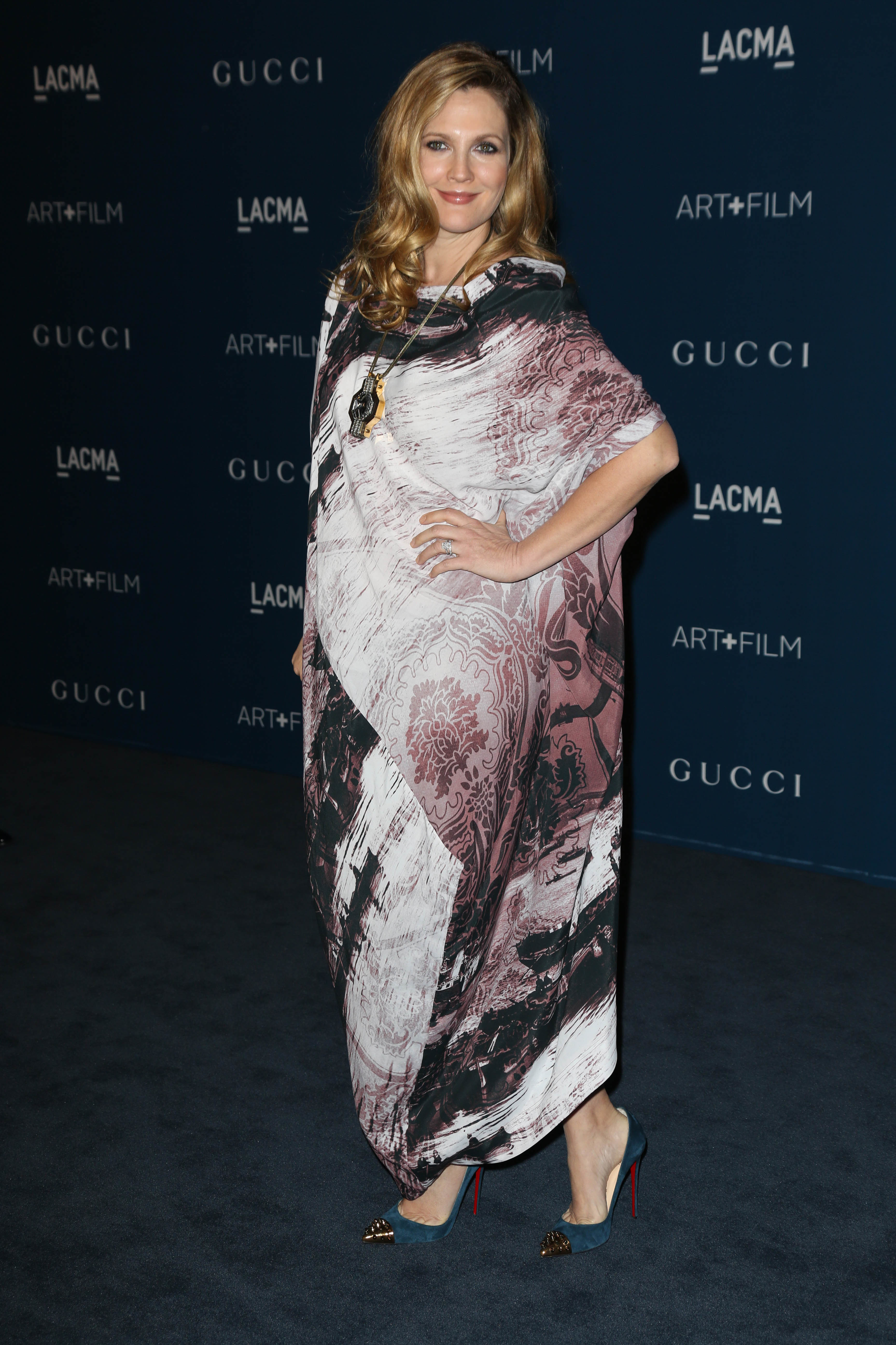 drew barrymore pregnant again