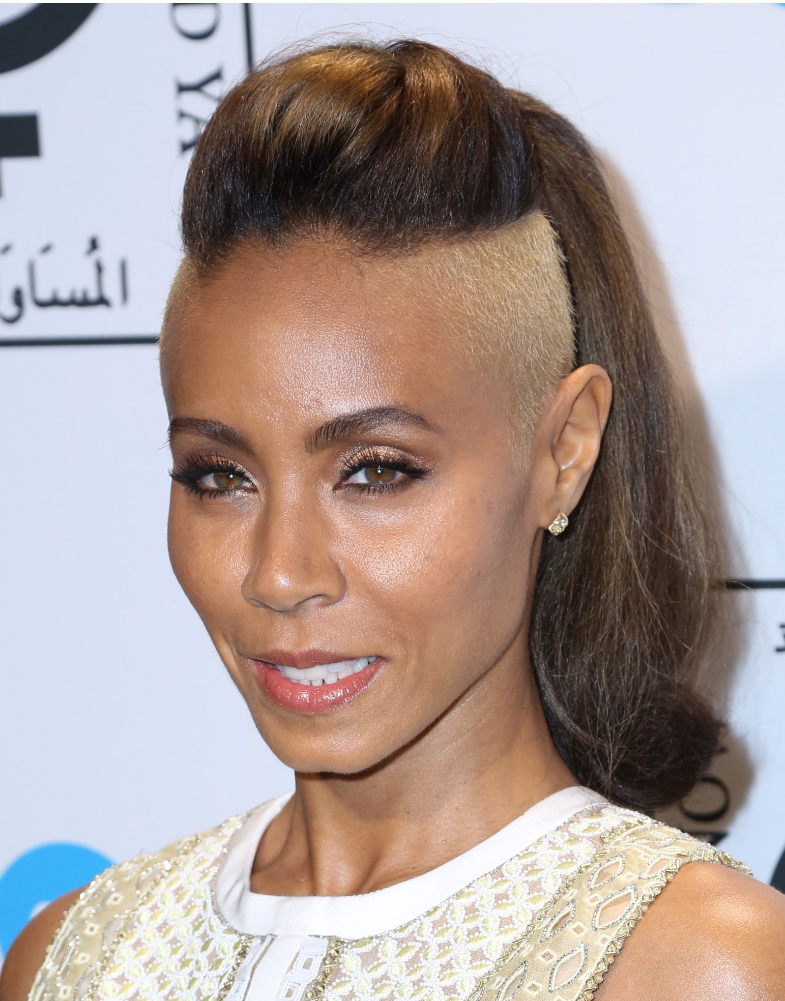 jada pinkett smith edgy new hair shaved sides blond equality