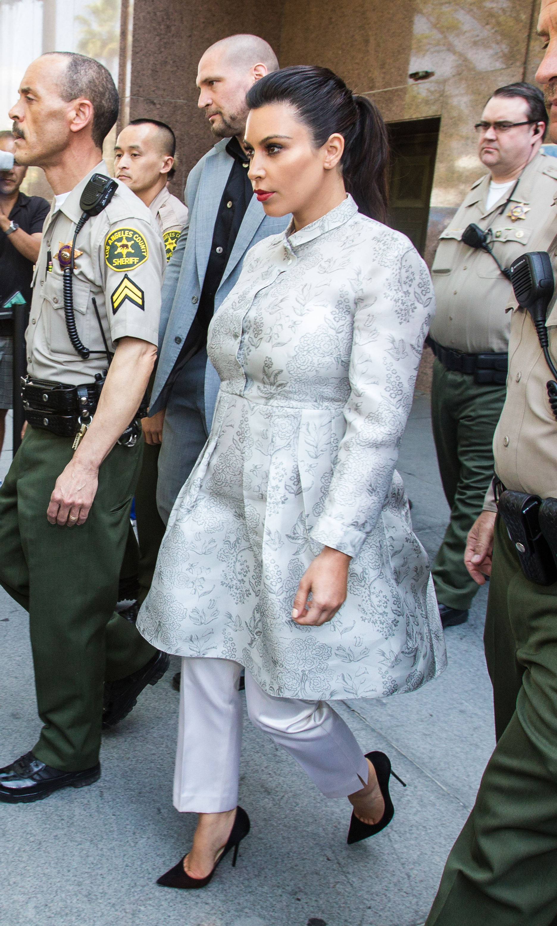 kim kardashian courtroom