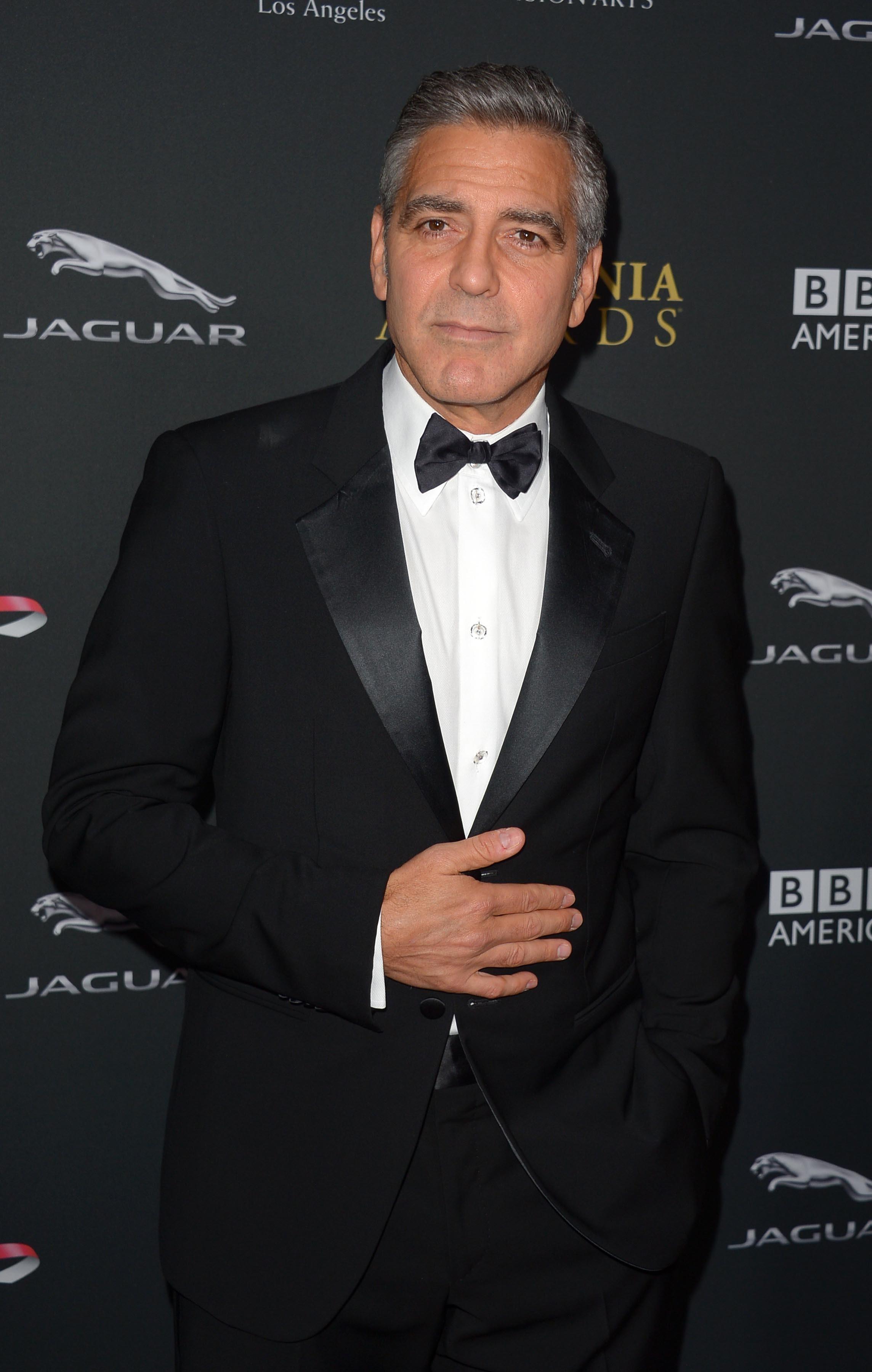George Cloonet 2013 Bafta