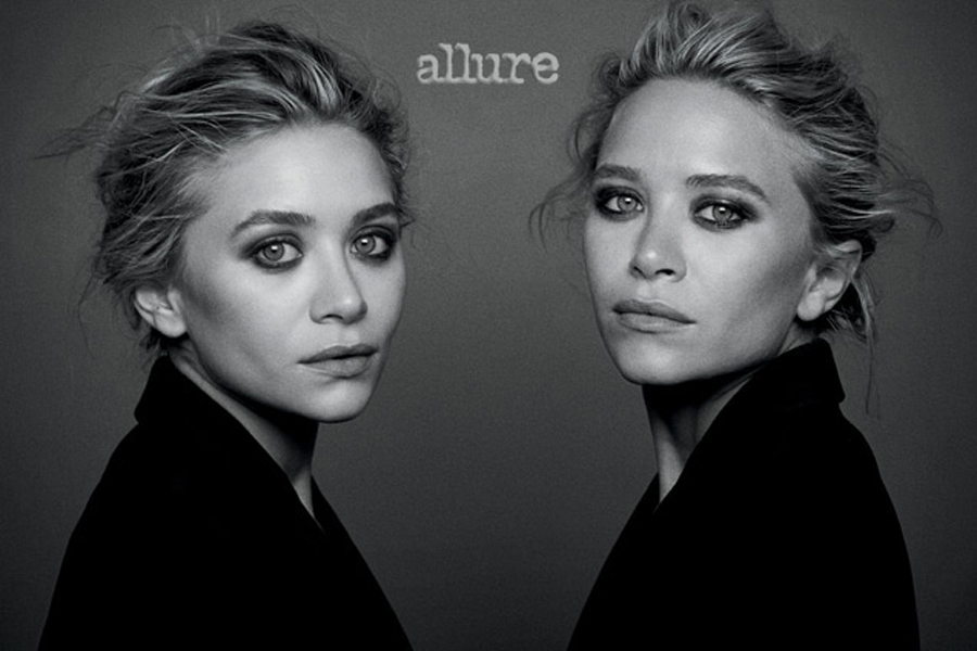 mary kate ashley olsen allure cover bond twins business fashion