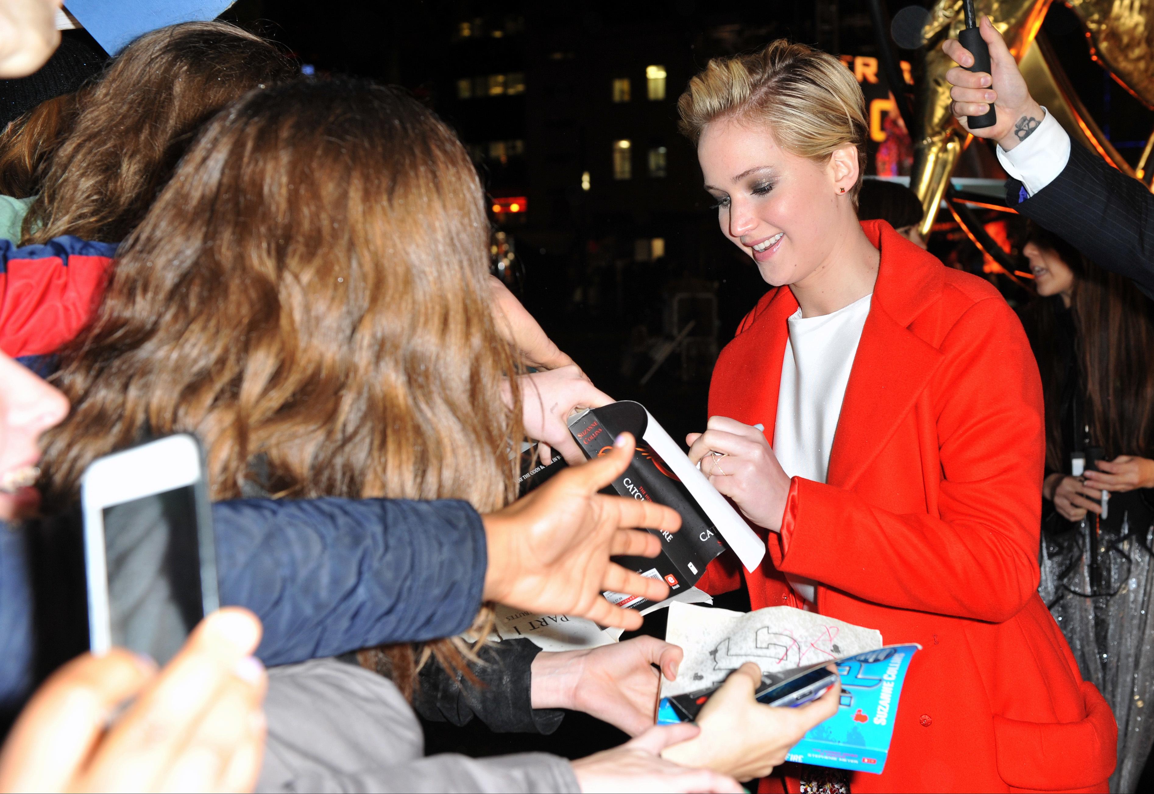Jennifer Lawrence fans