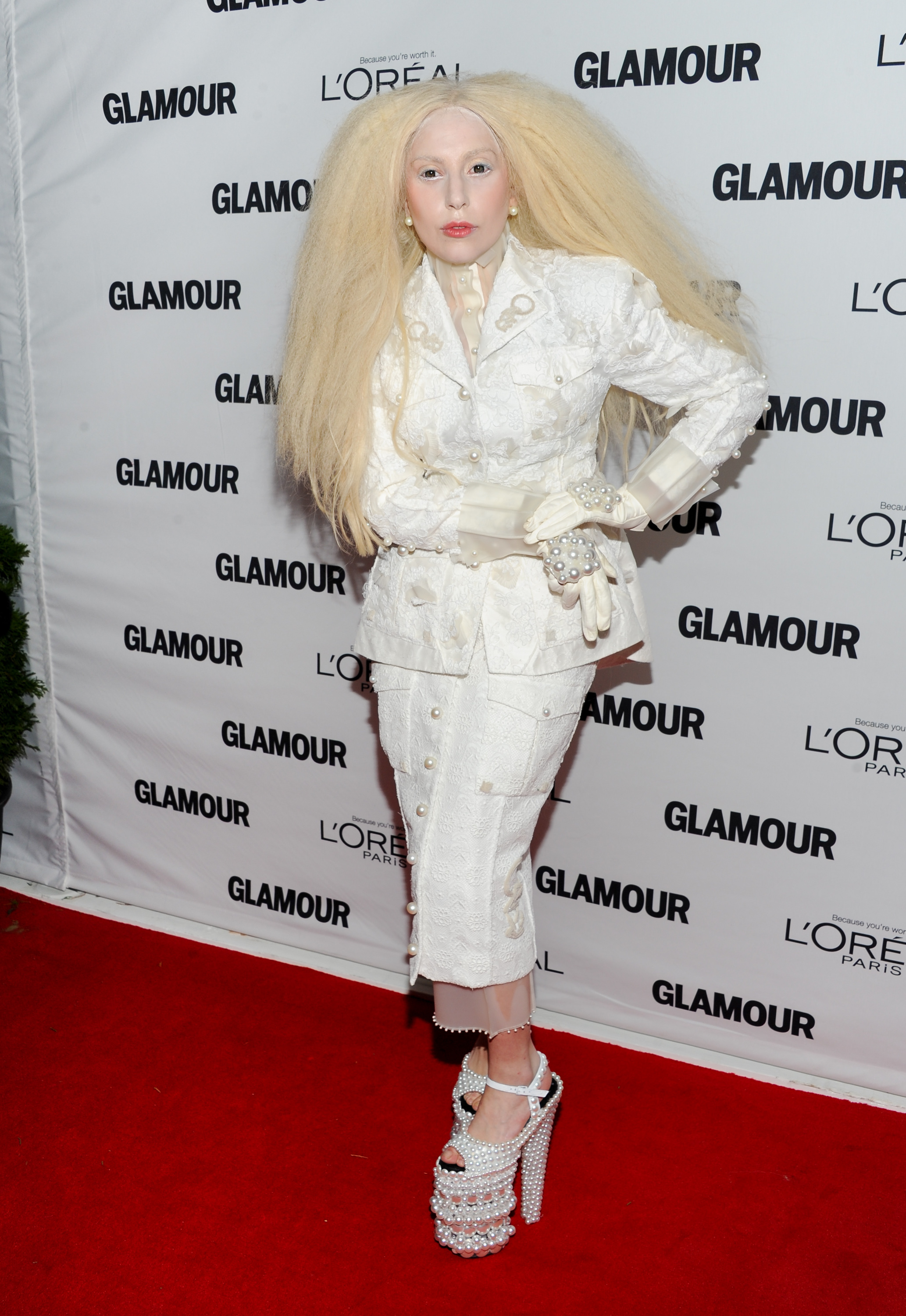 Lady Gaga Glamour awards