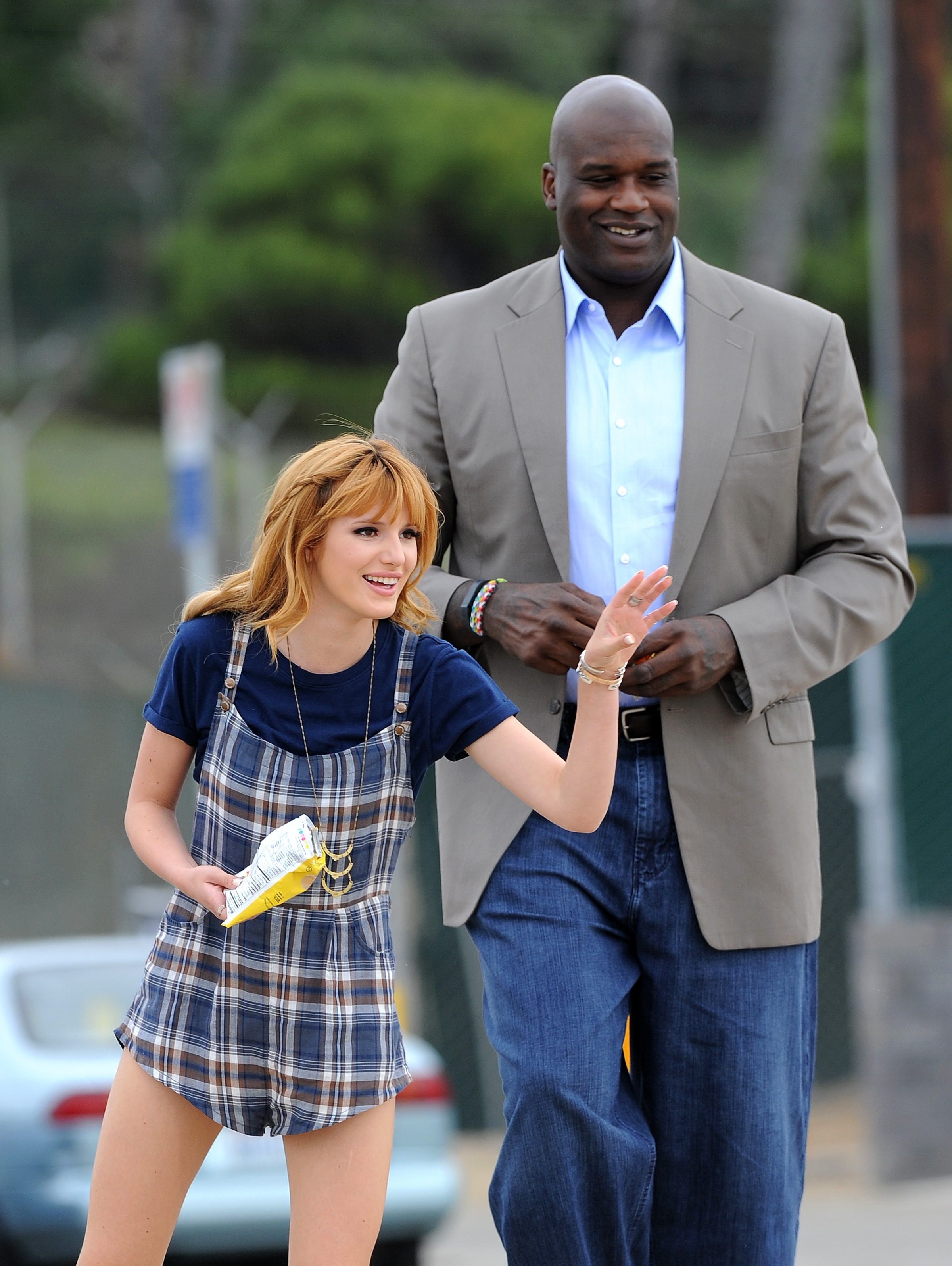 bella thorne shaquille o'neal