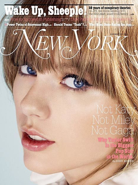 Taylor Swift New York magazine