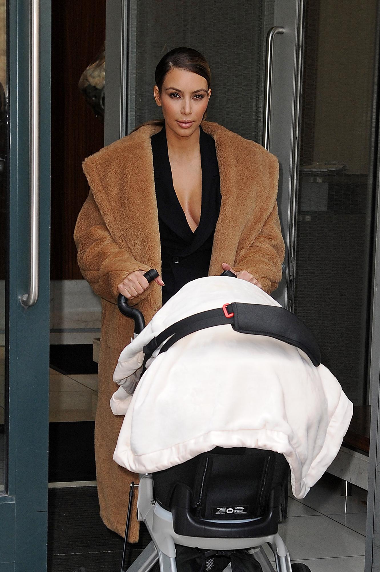kim kardashian stroller