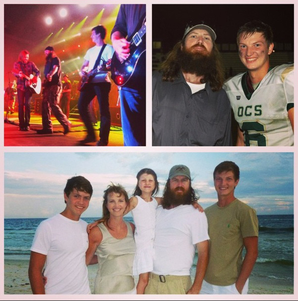 Reed Robertson family
