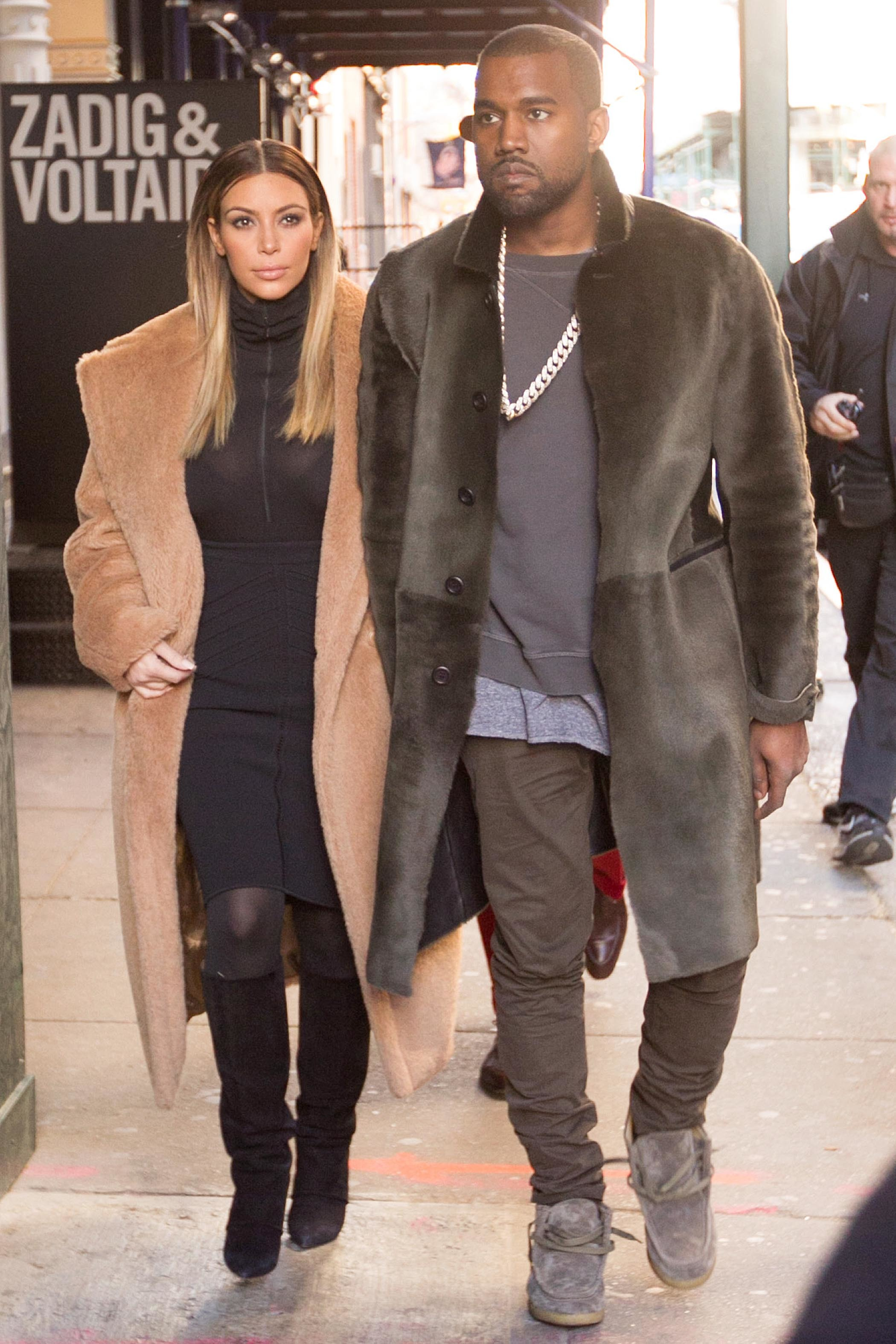Kim Kardashian Kanye west new york