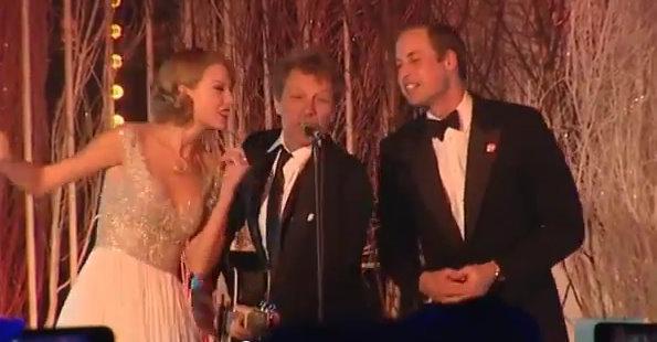 Prince William Bon Jovi Taylor Swift