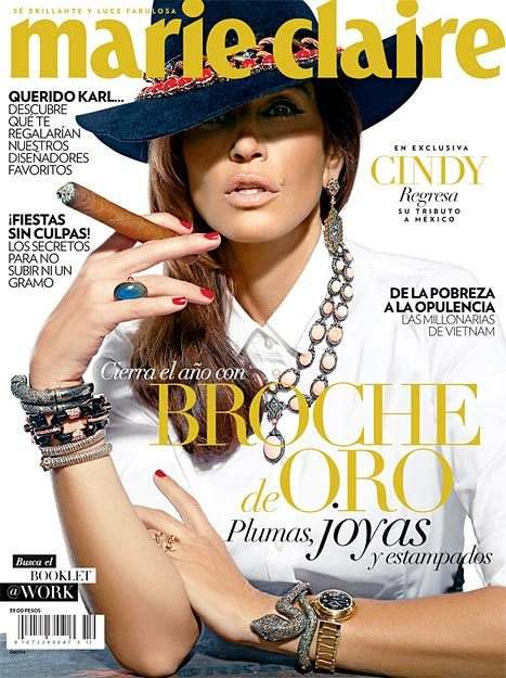Cindy Crawford Marie Claire