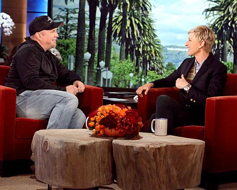 Garth Brooks Ellen DeGeneres
