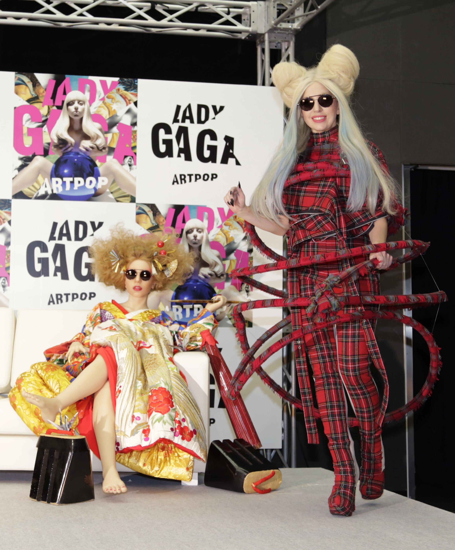 Lady Gaga Japan doll