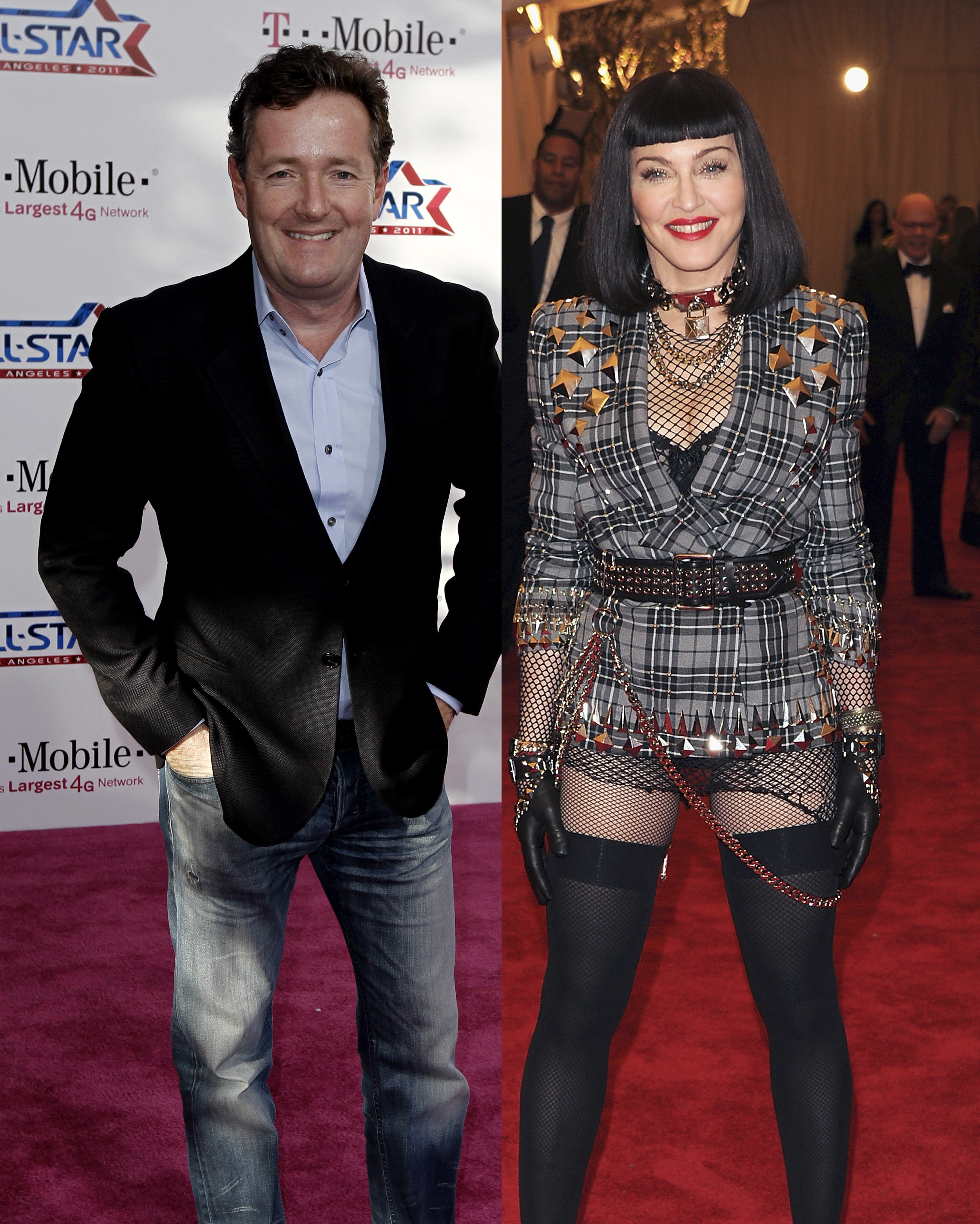 madonna piers morgan