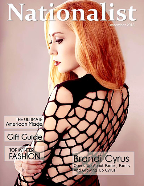 brandi cyrus nationalist magazine